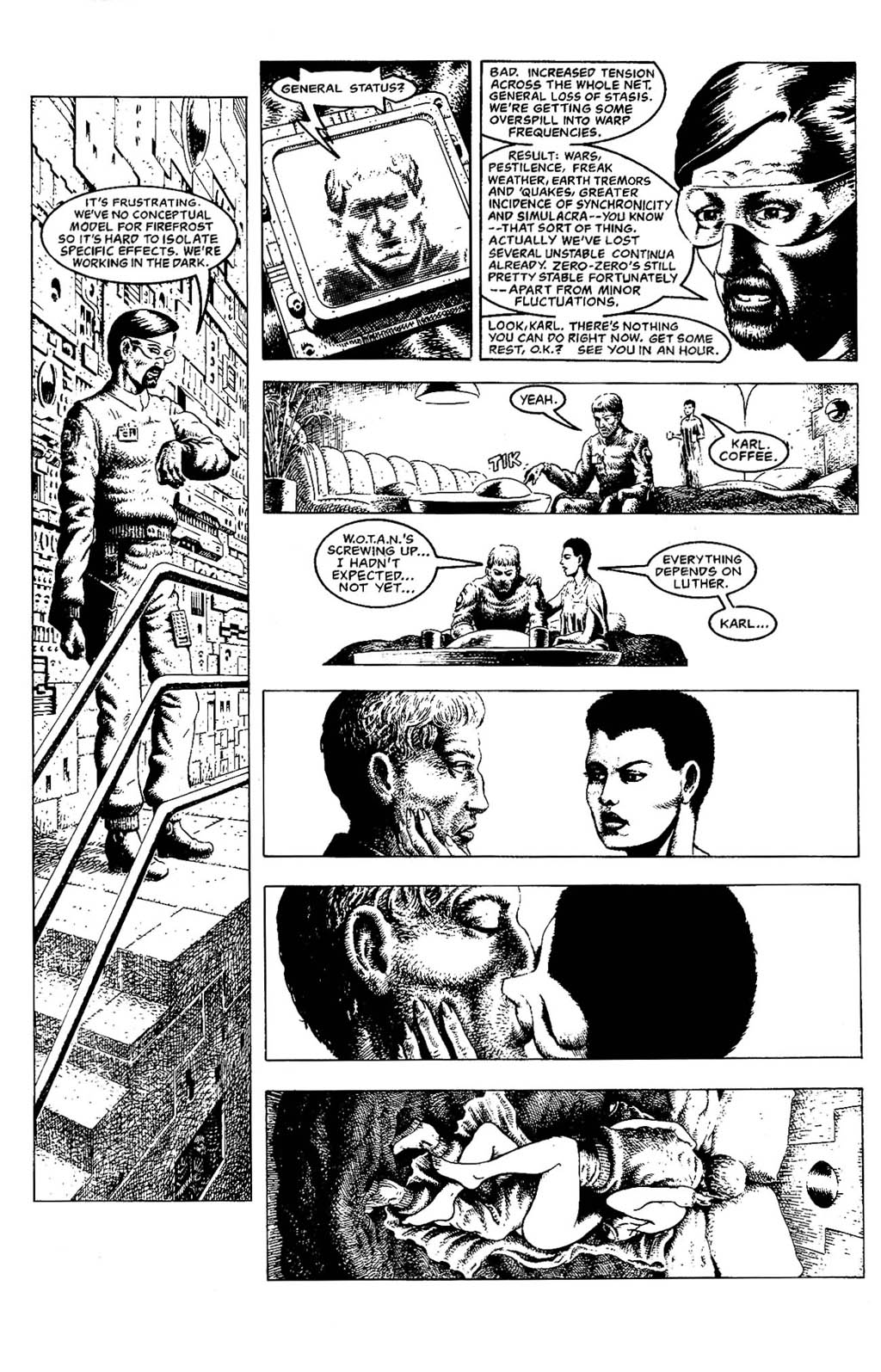 Read online The Adventures of Luther Arkwright comic -  Issue #5 - 14
