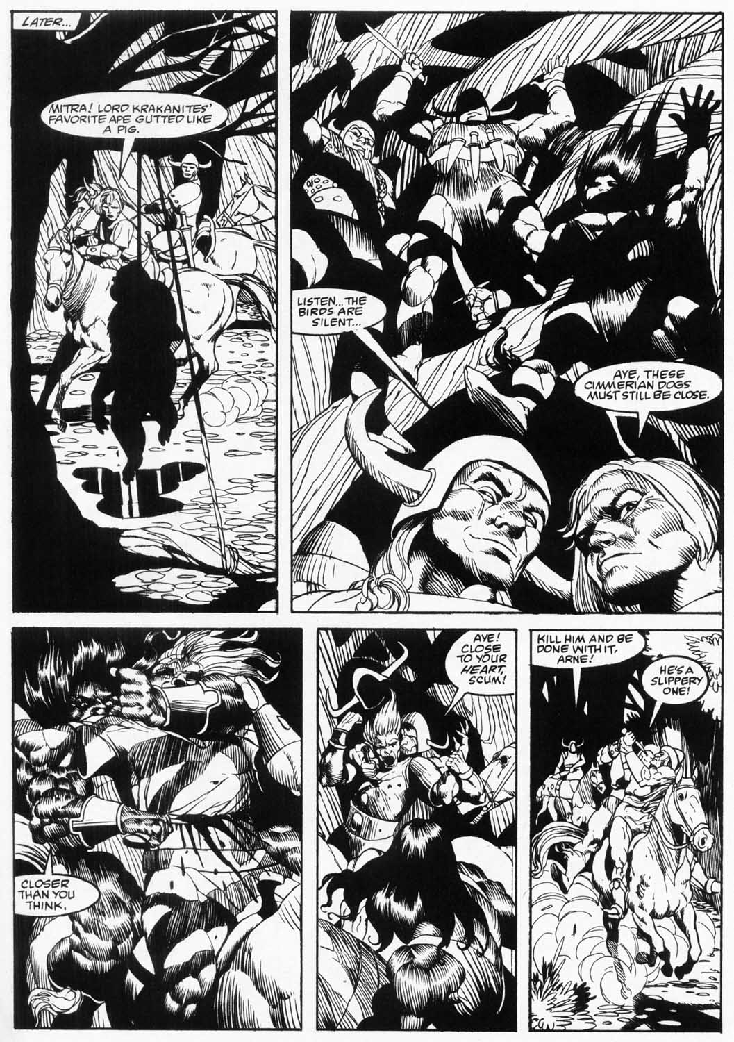 The Savage Sword Of Conan Issue #157 #158 - English 34