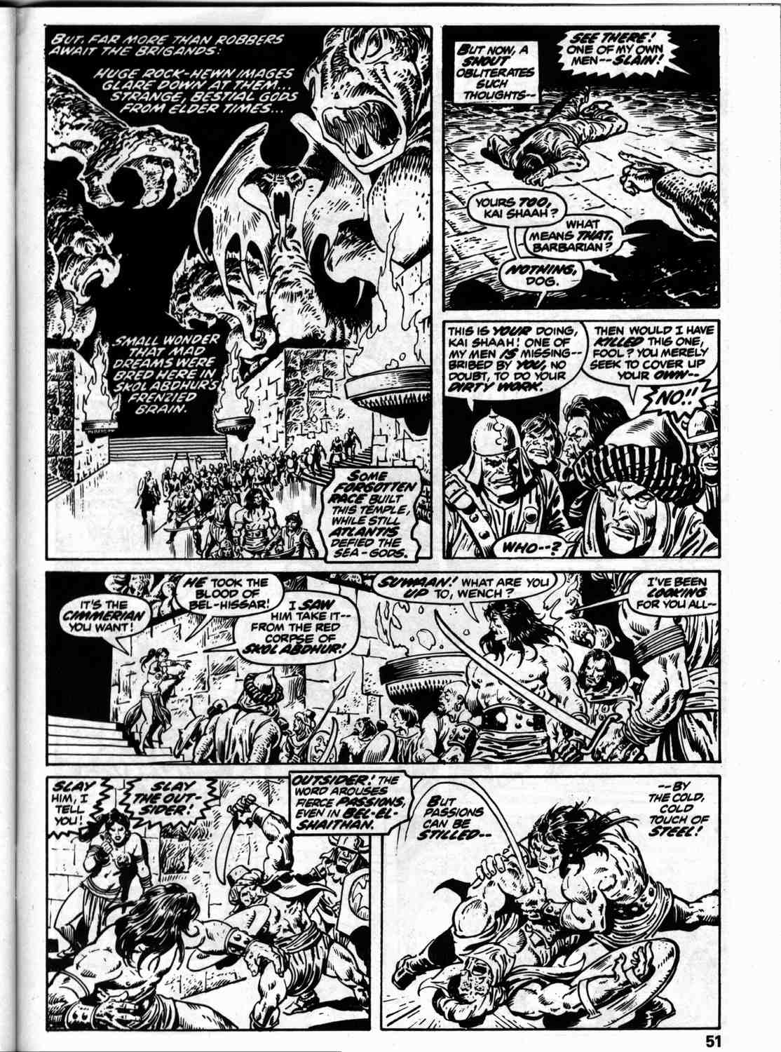 The Savage Sword Of Conan Issue #59 #60 - English 58