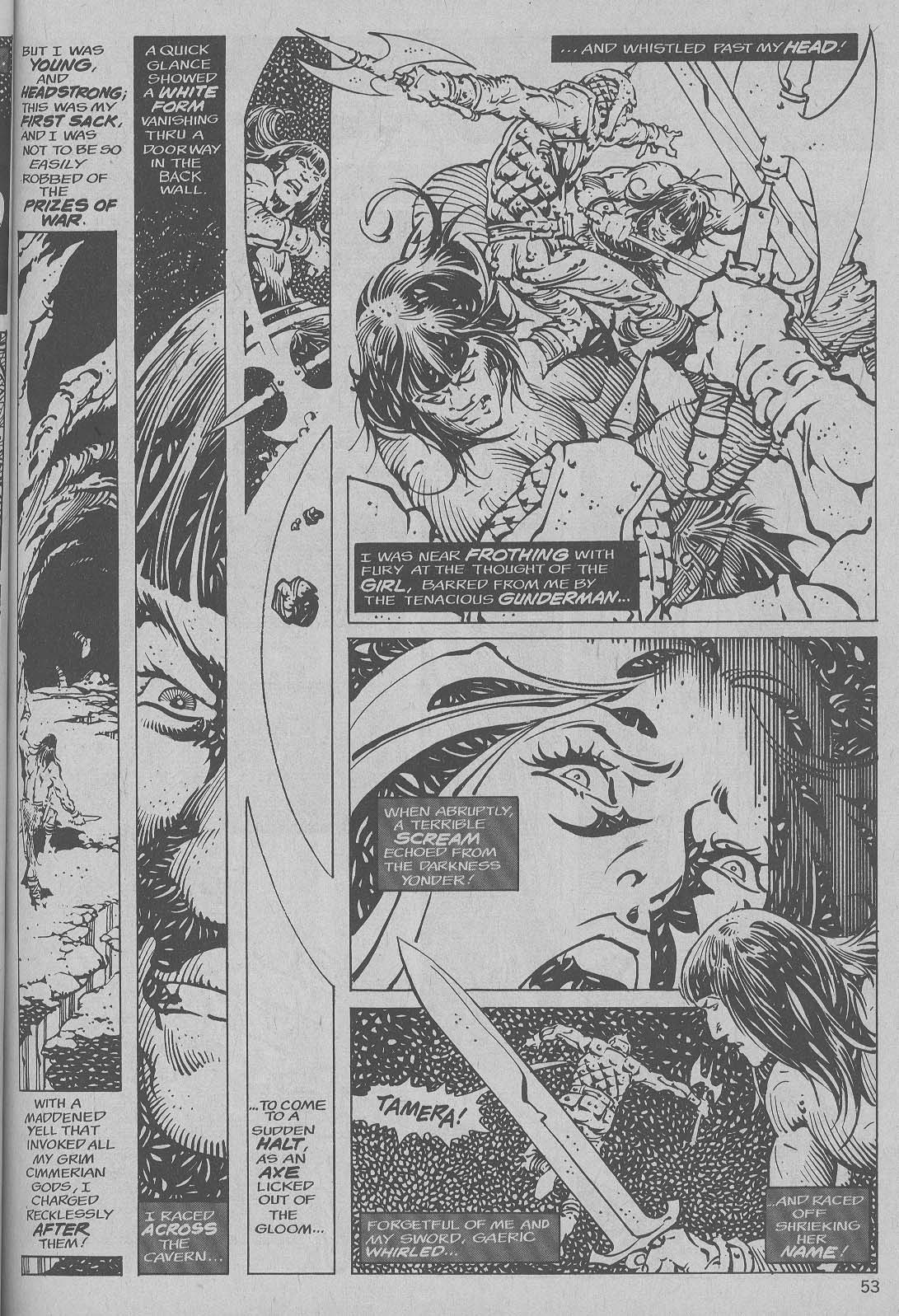 The Savage Sword Of Conan Issue #6 #7 - English 45