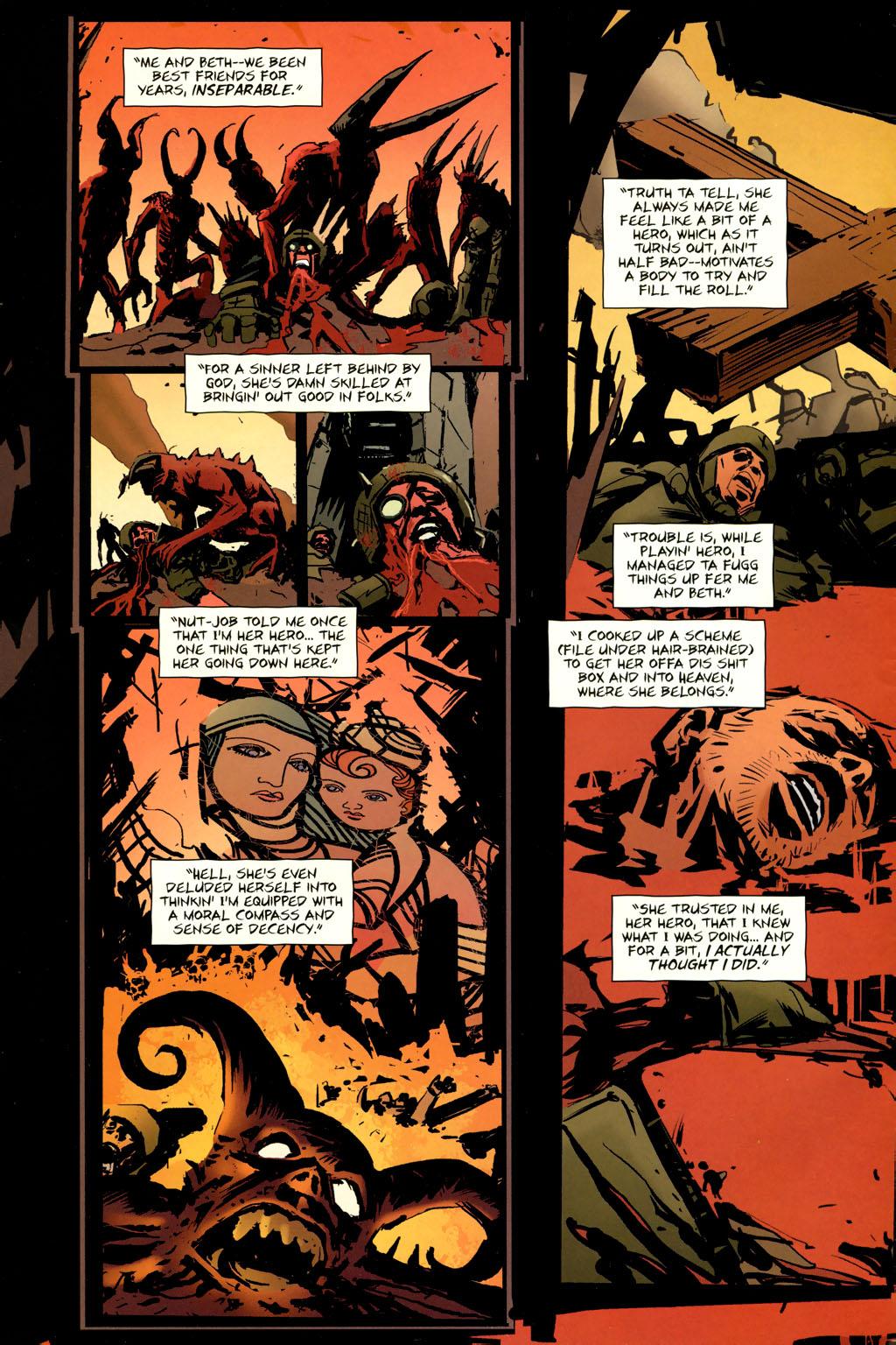 Strange Girl Issue #9 #10 - English 4