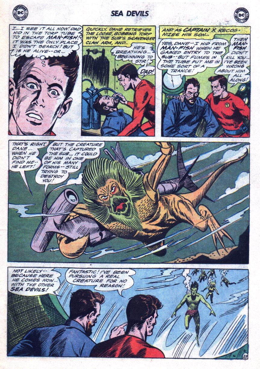 Read online Sea Devils comic -  Issue #24 - 32