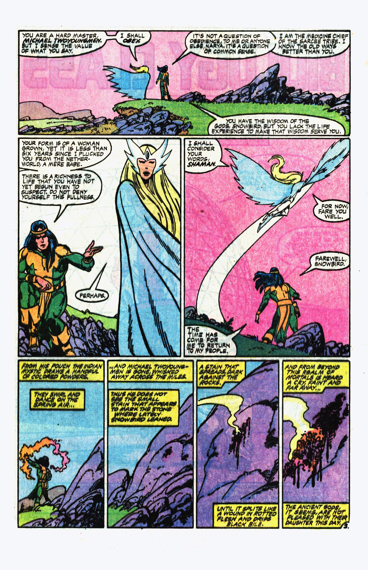Alpha Flight (1983) 14 Page 3