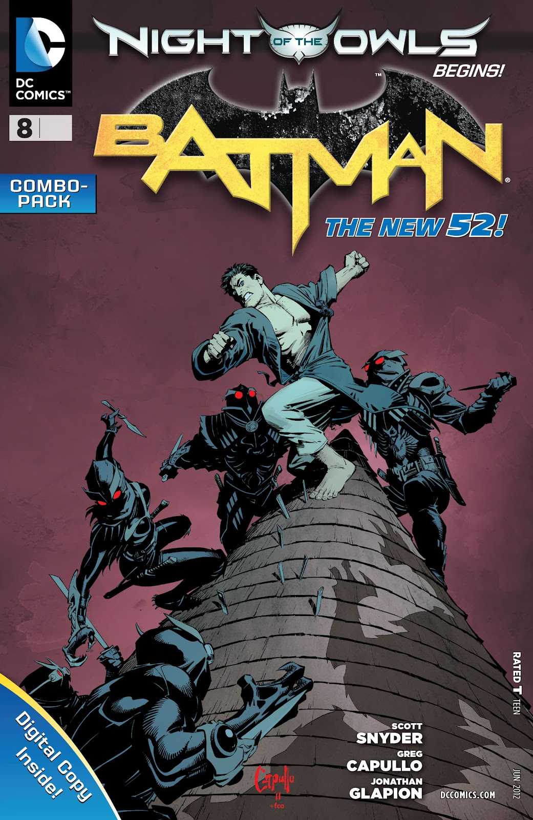 Batman (2011) Issue #8 #23 - English 30