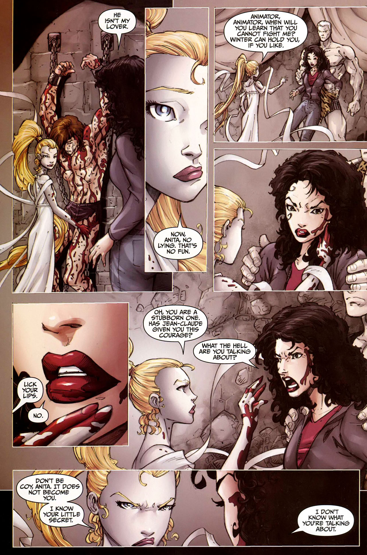 Read online Anita Blake, Vampire Hunter: Guilty Pleasures comic -  Issue #9 - 16