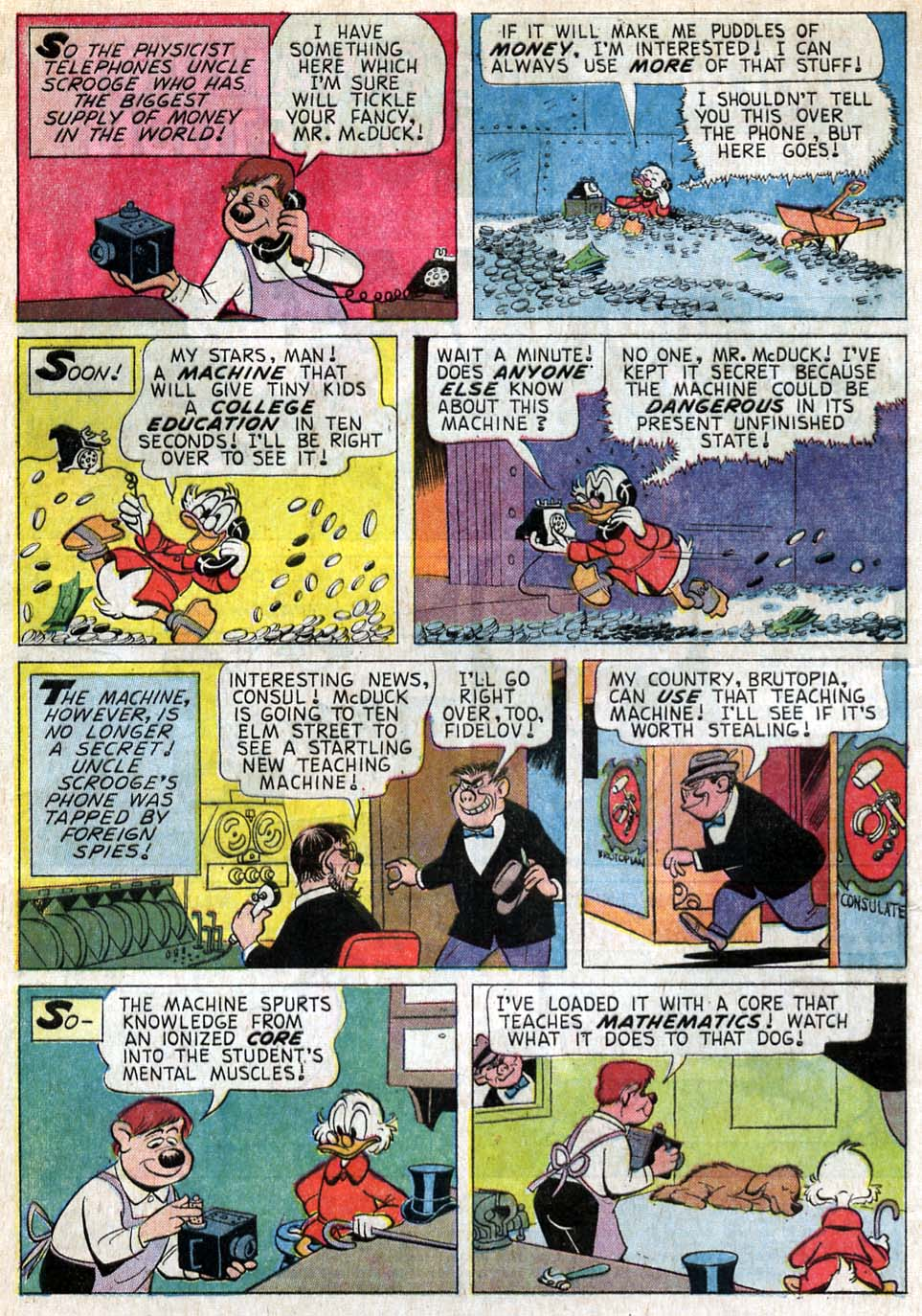 Uncle Scrooge (1953) Issue #57 #57 - English 4