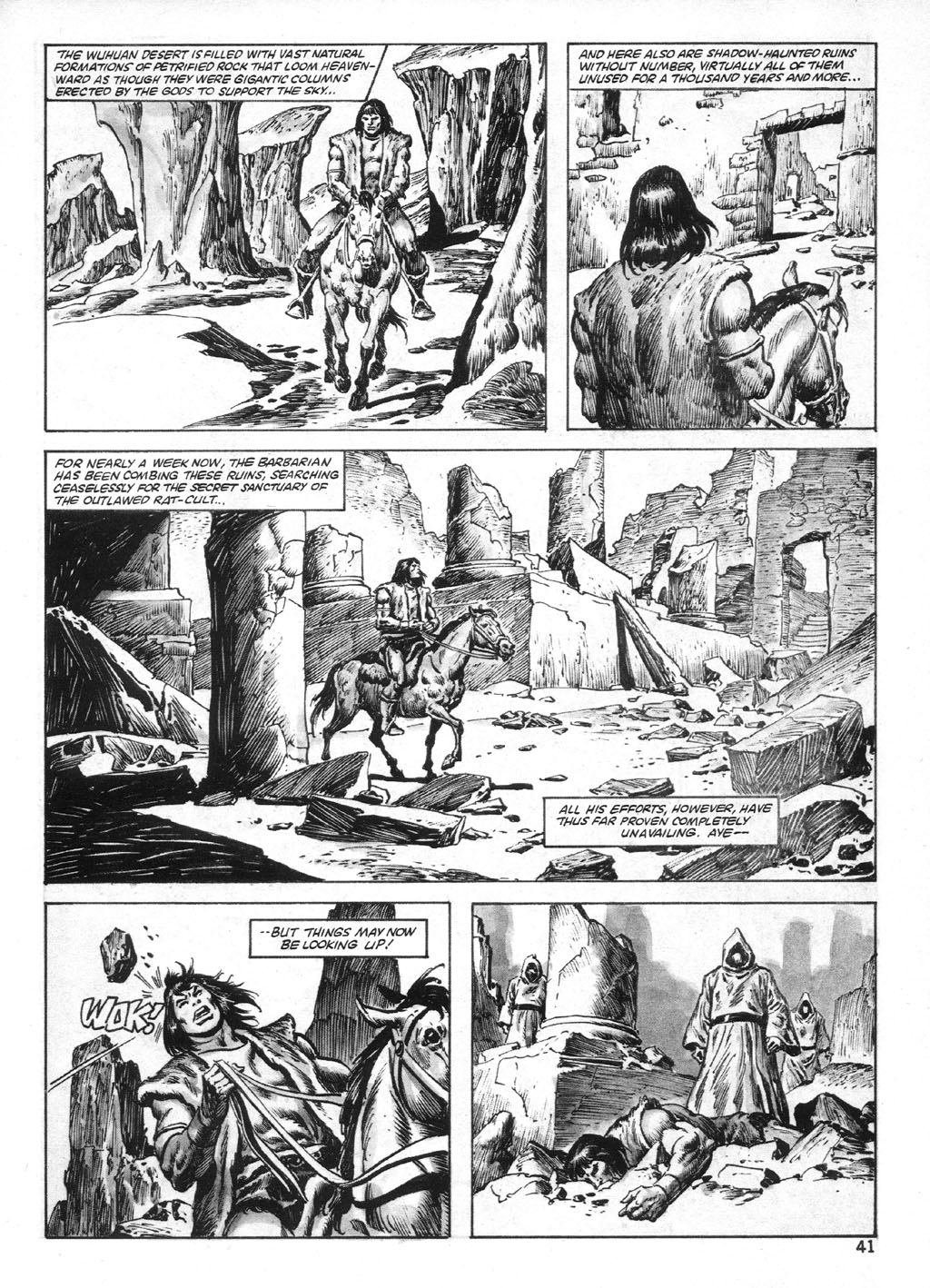 The Savage Sword Of Conan Issue #95 #96 - English 41