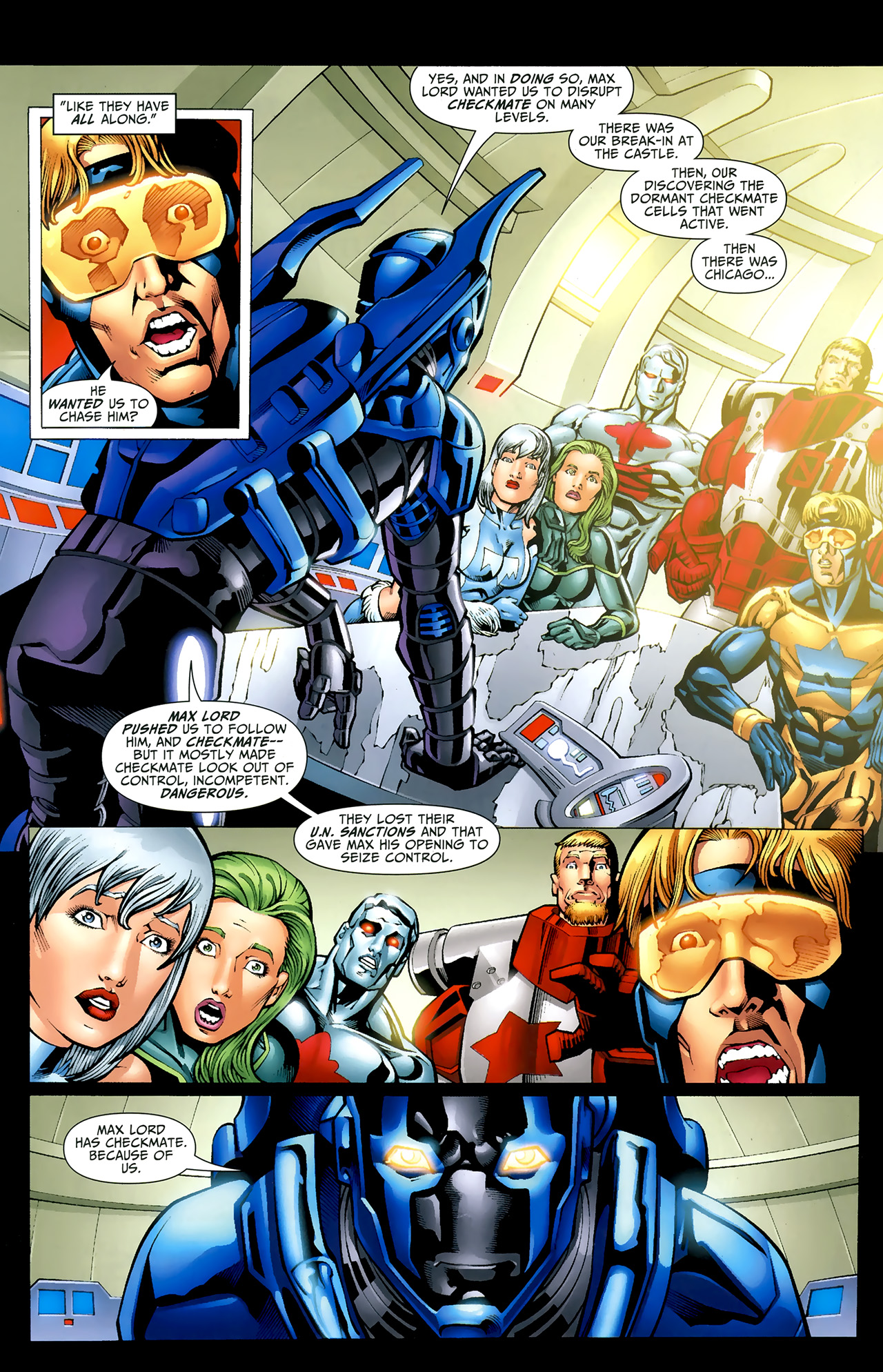 Read online Justice League: Generation Lost comic -  Issue #22 - 8