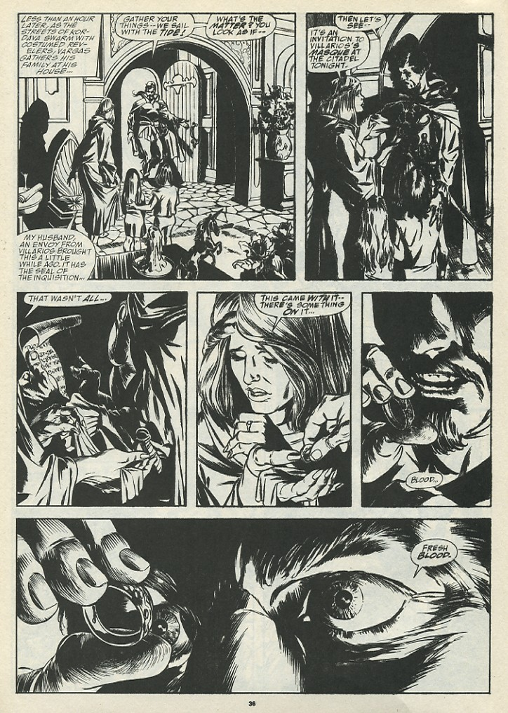 The Savage Sword Of Conan Issue #185 #186 - English 38