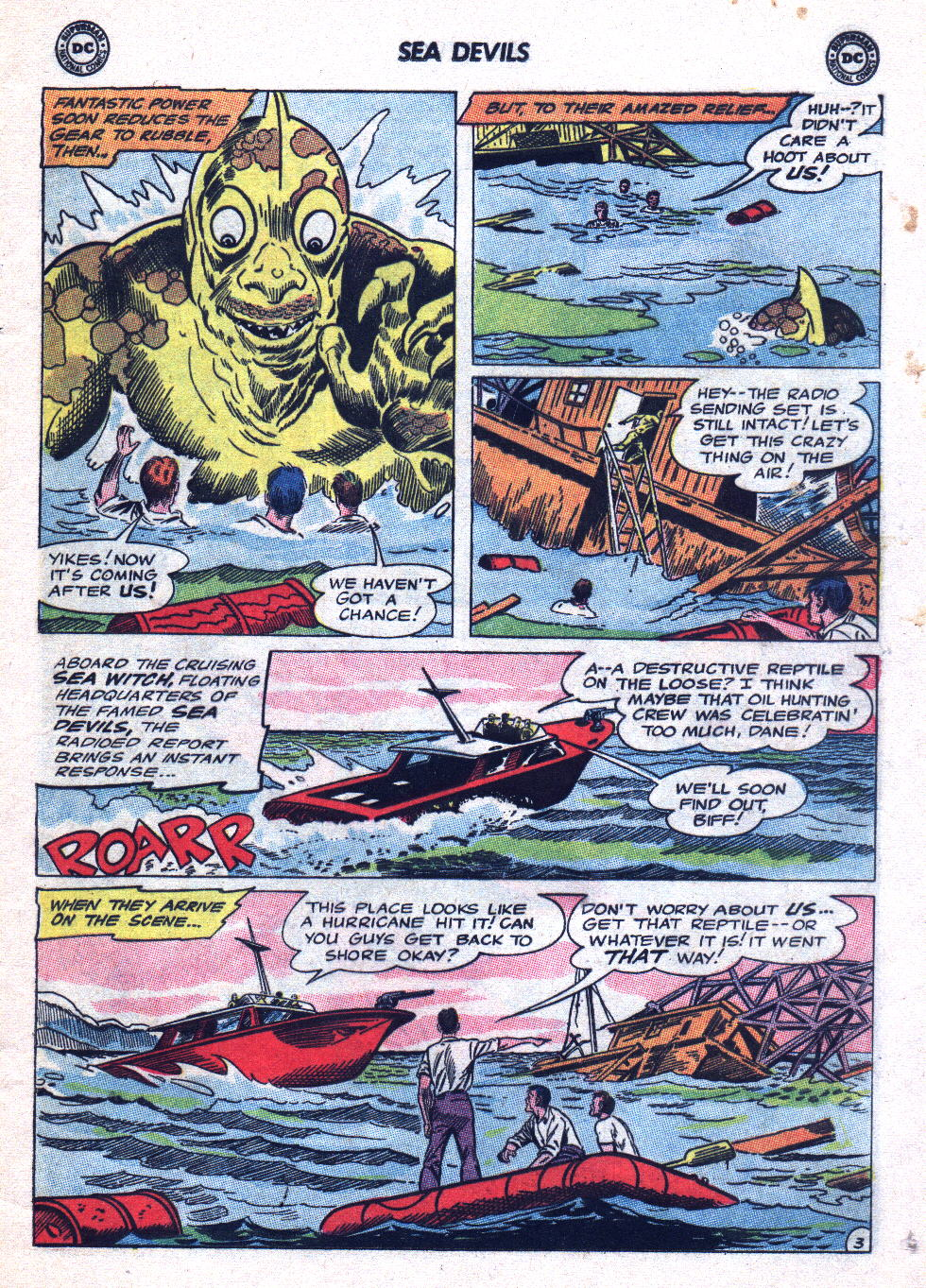 Read online Sea Devils comic -  Issue #20 - 5