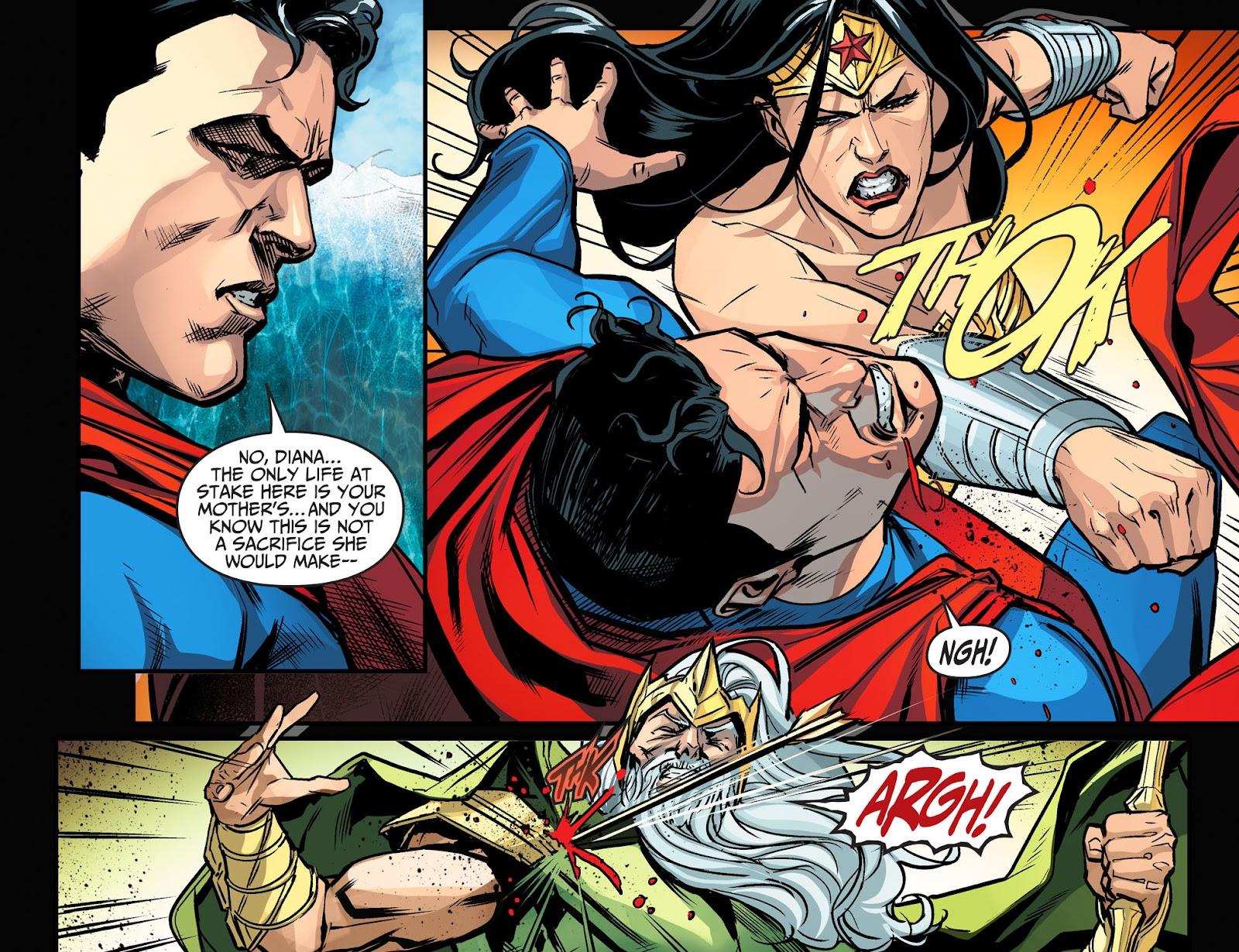 Injustice: Gods Among Us Year Four Issue #17 #18 - English 20
