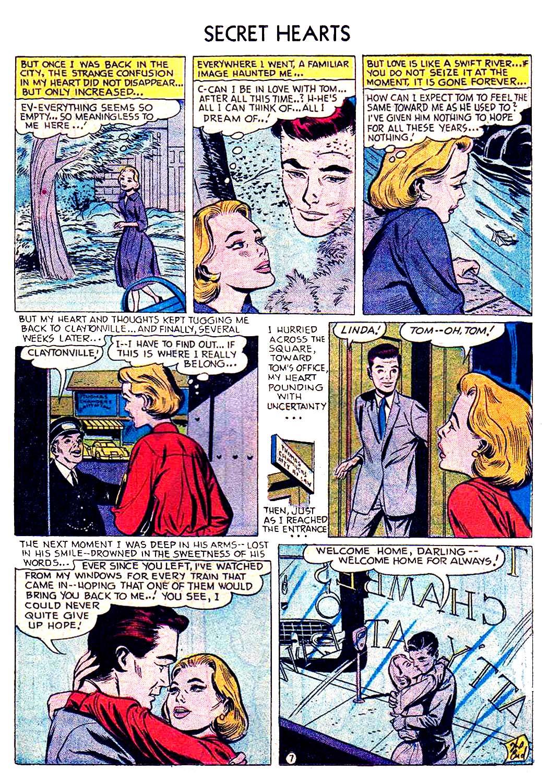 Read online Secret Hearts comic -  Issue #41 - 23