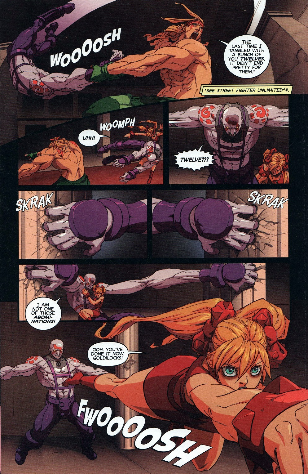 Street Fighter Unlimited Issue #9 #11 - English 7