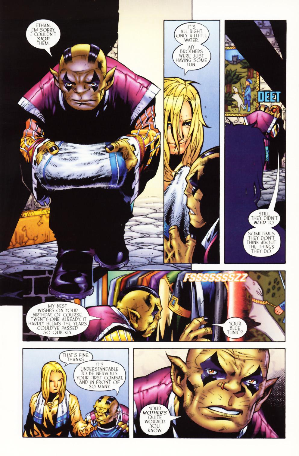 Read online Scion comic -  Issue #1 - 9
