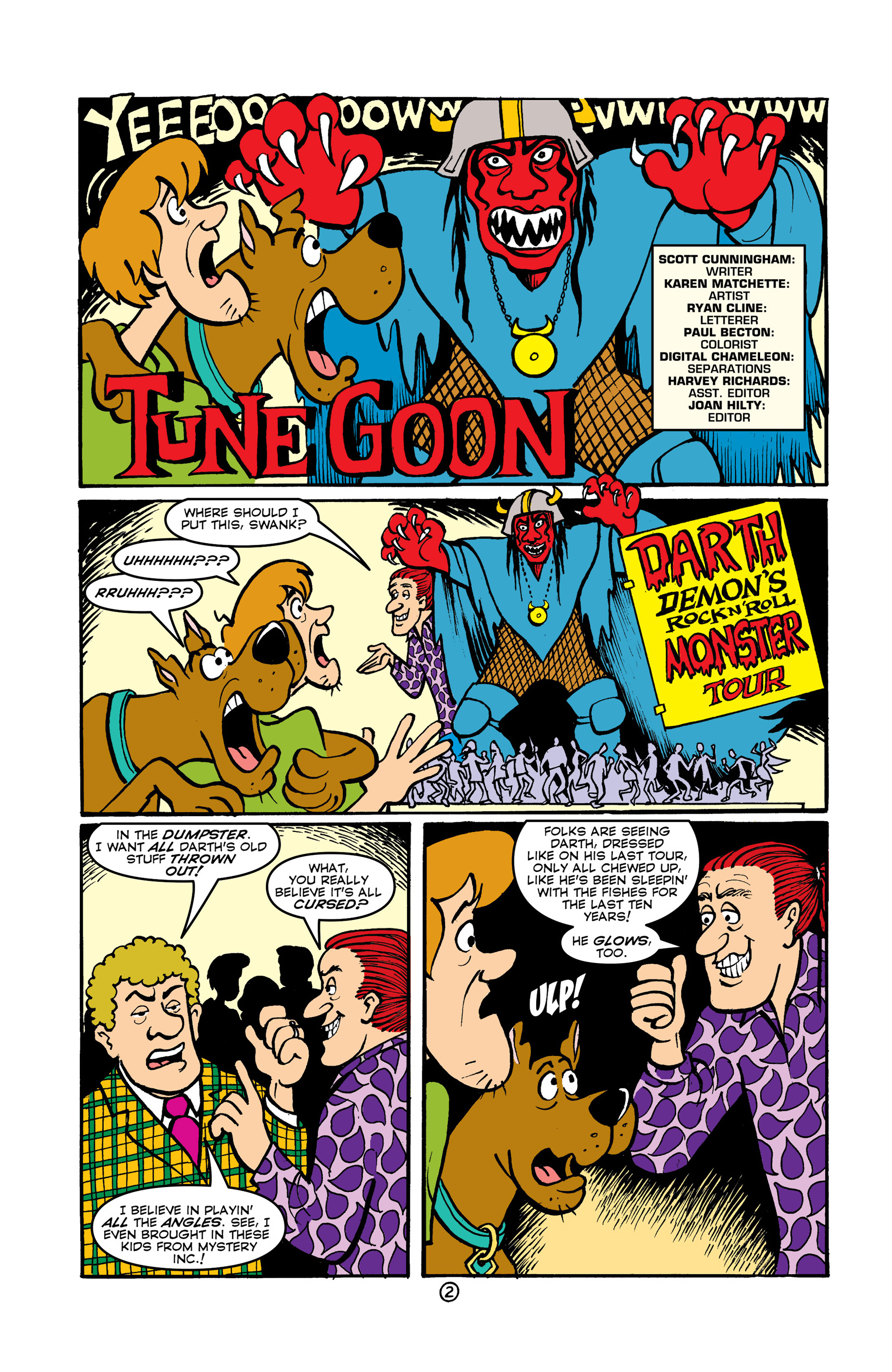 Read online Scooby-Doo (1997) comic -  Issue #47 - 15
