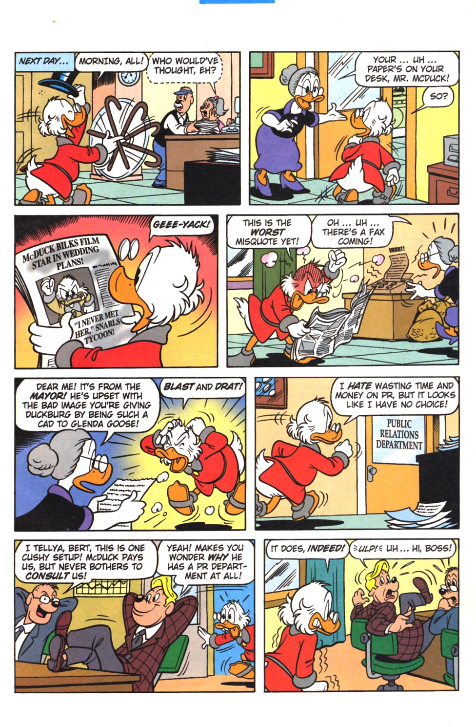 Uncle Scrooge (1953) Issue #307 #307 - English 15