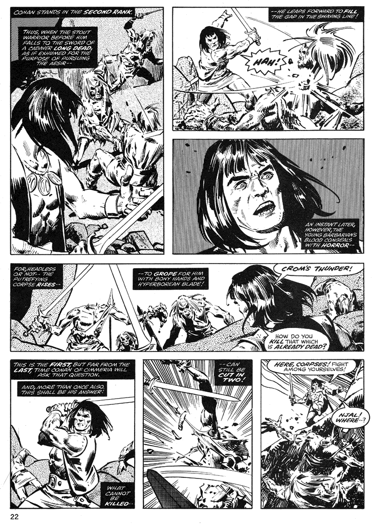 The Savage Sword Of Conan Issue #39 #40 - English 22