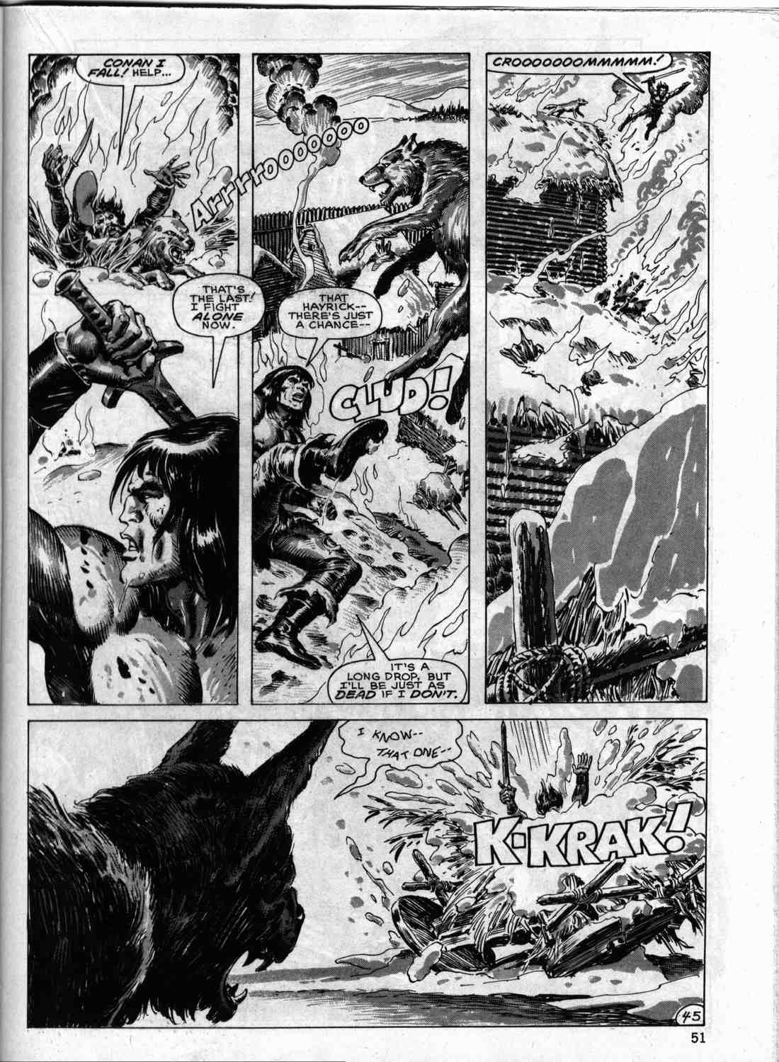 The Savage Sword Of Conan Issue #133 #134 - English 50