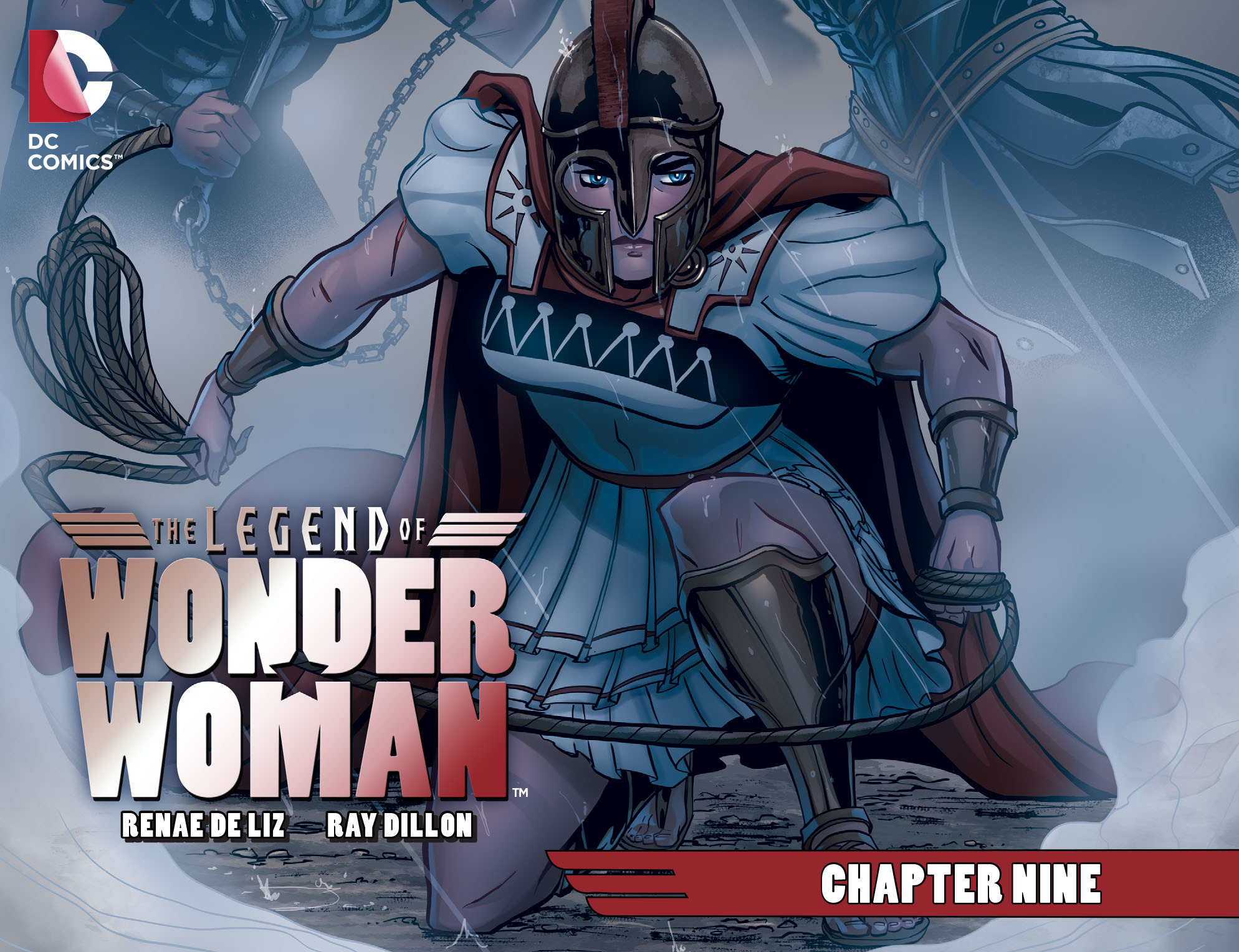 The Legend of Wonder Woman (2015) 9 Page 1