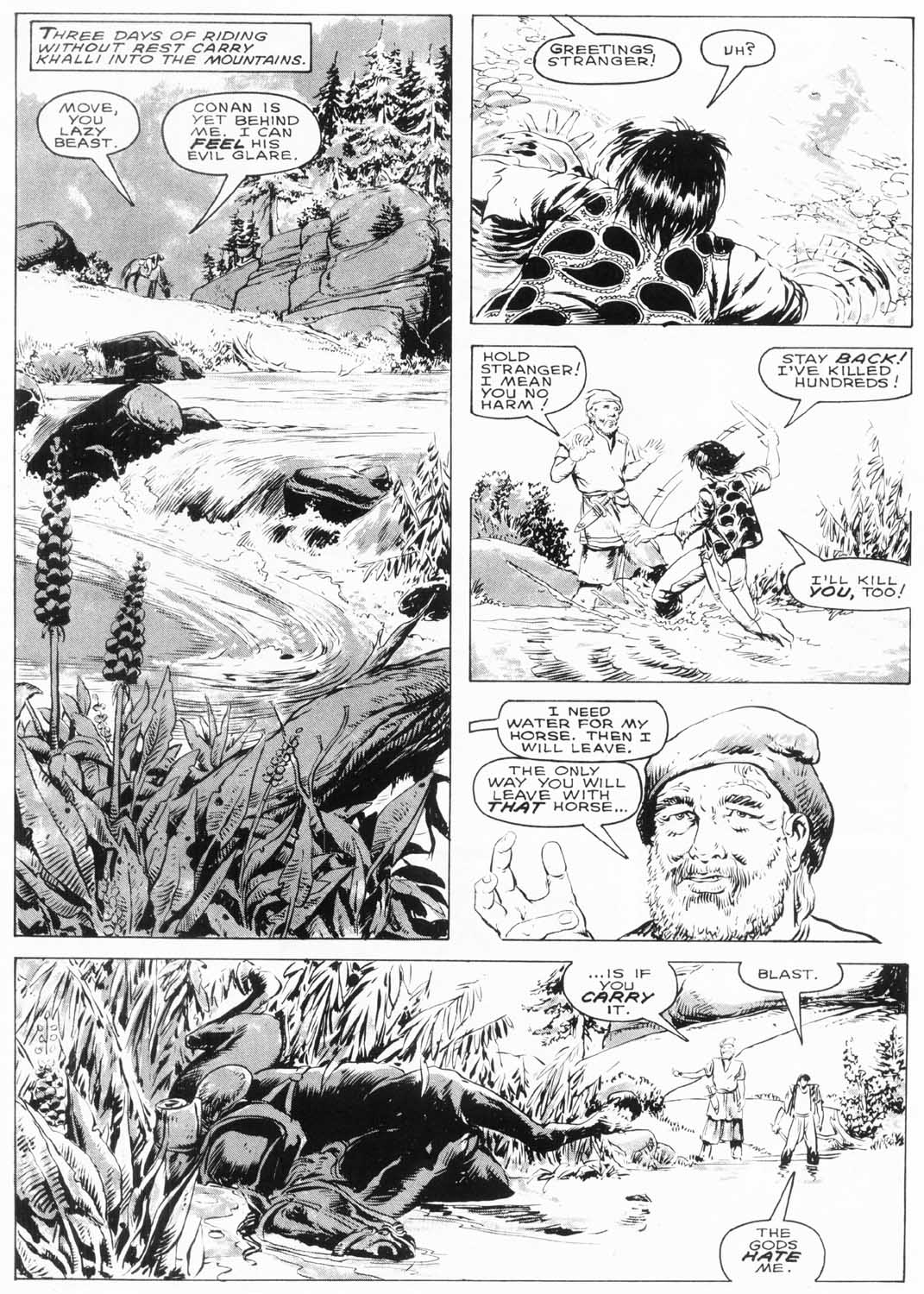 The Savage Sword Of Conan Issue #154 #155 - English 24