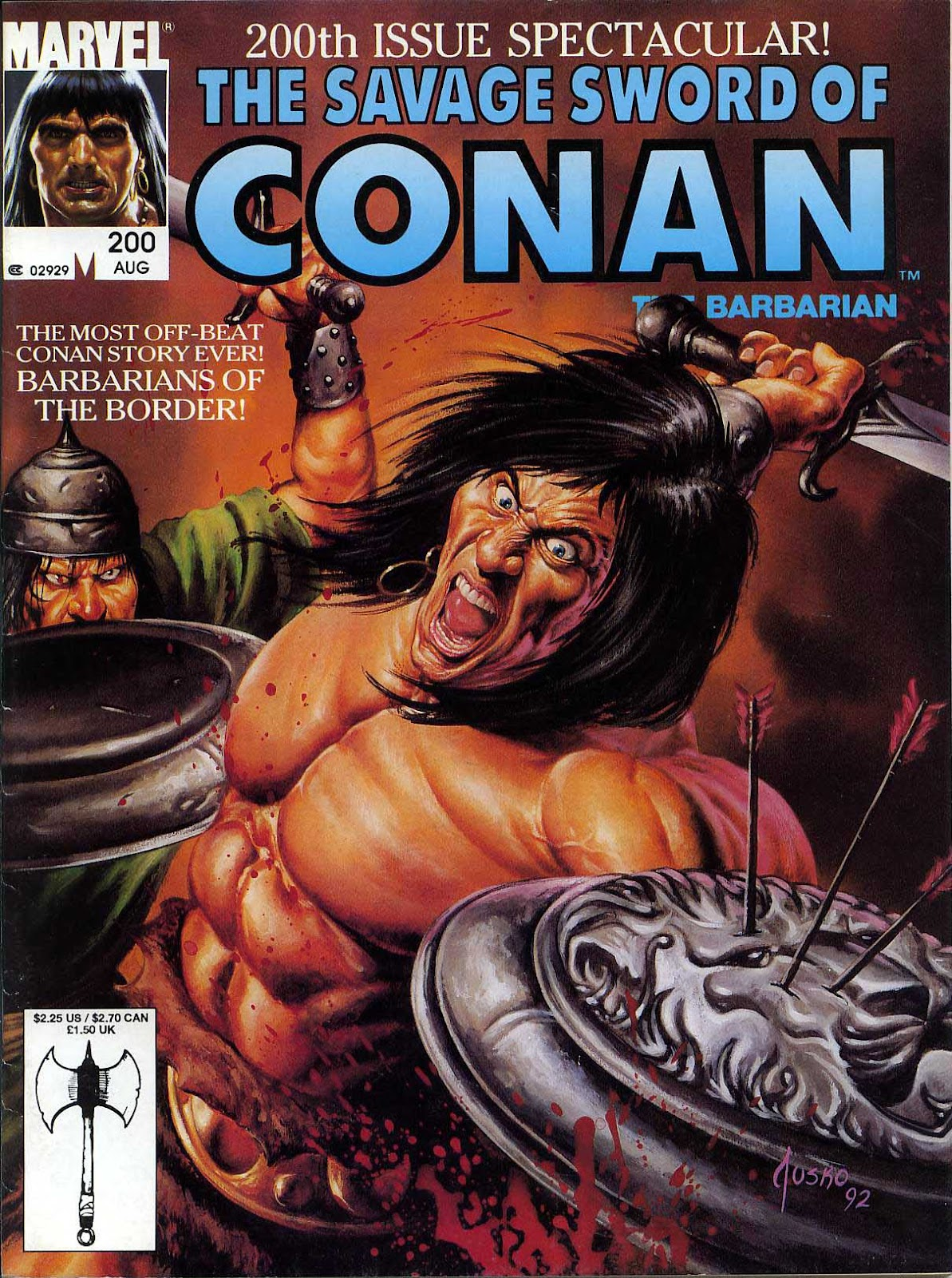 The Savage Sword Of Conan Issue #200 #201 - English 1