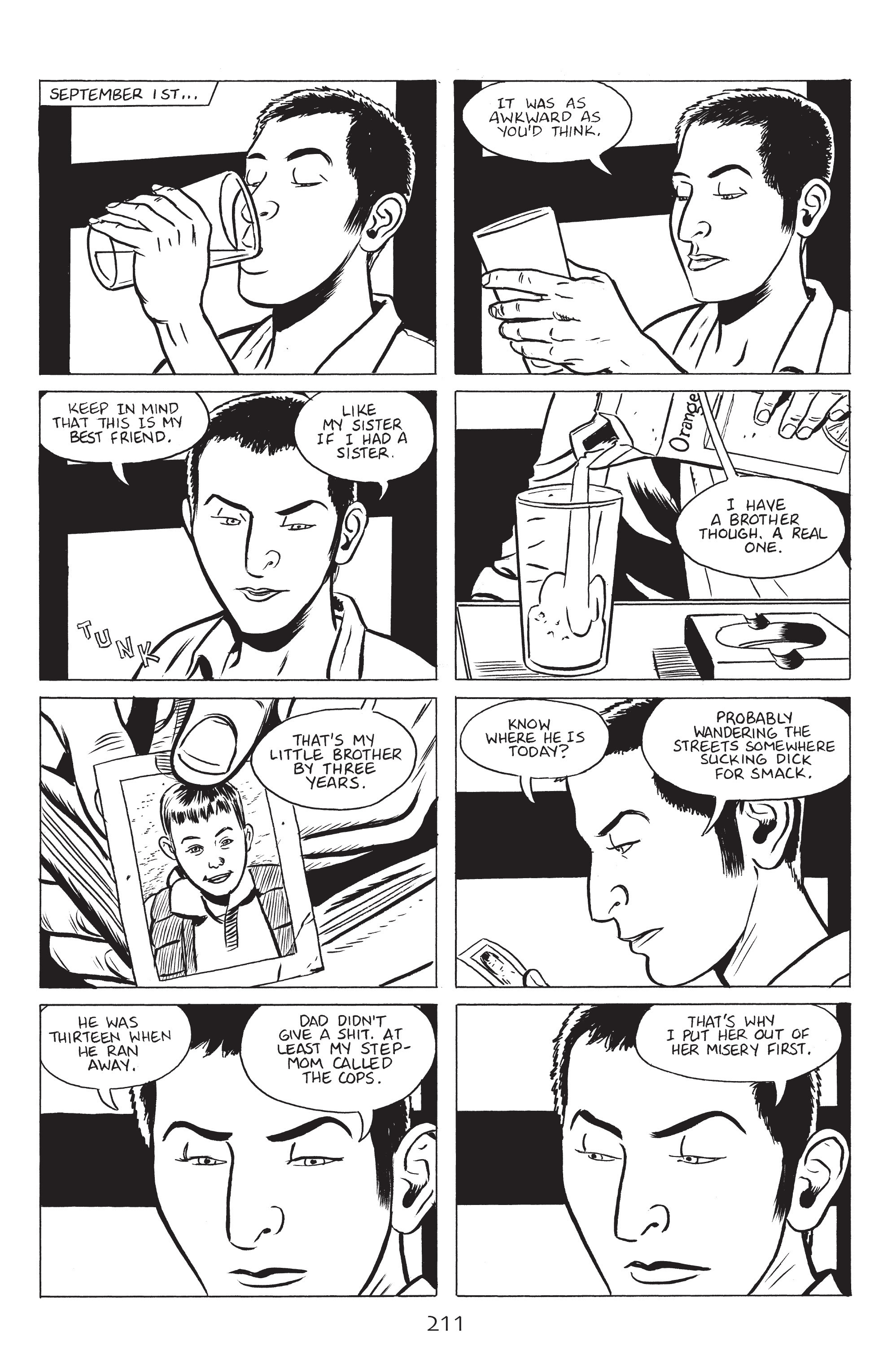 Read online Stray Bullets: Sunshine & Roses comic -  Issue #8 - 17