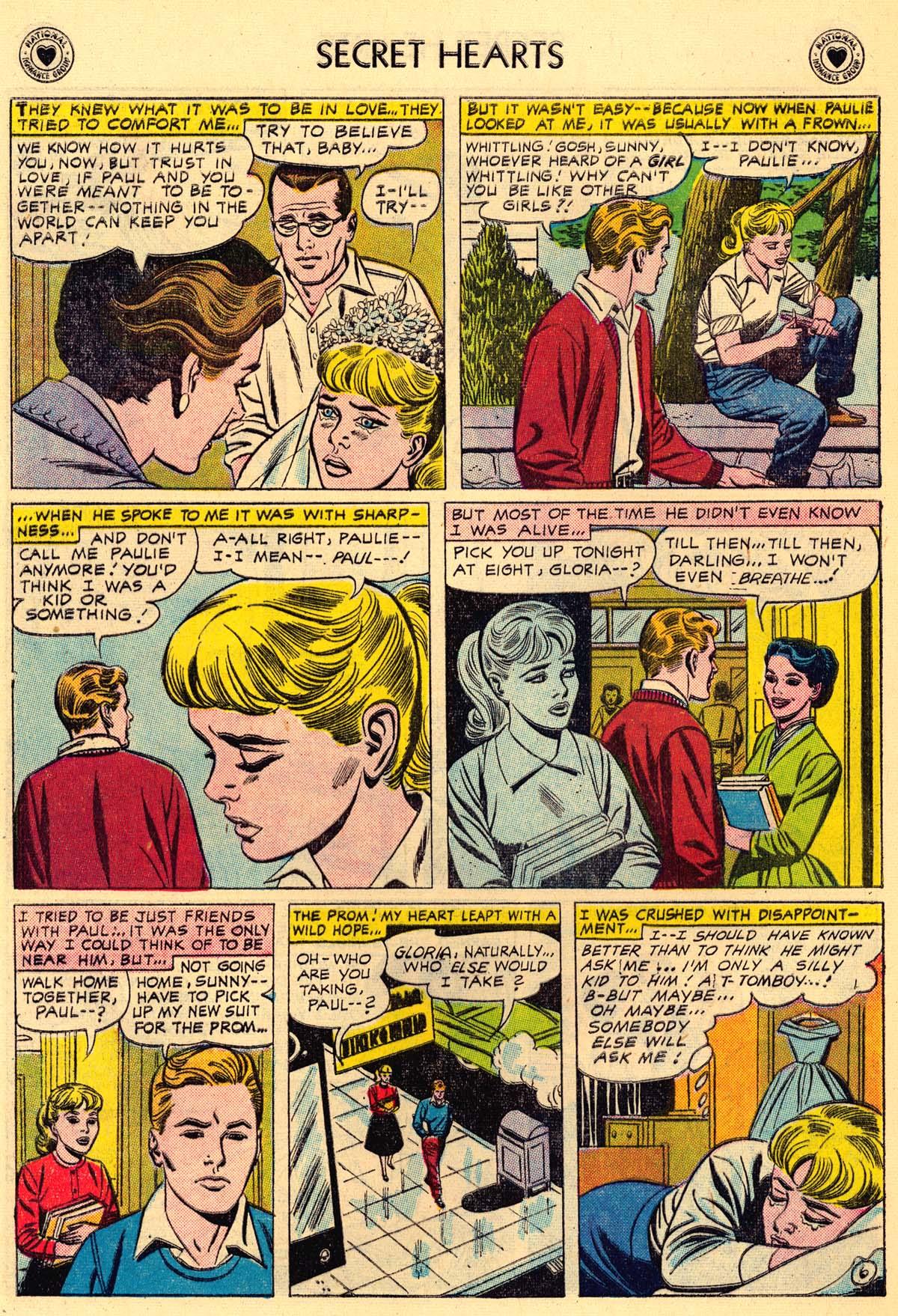Read online Secret Hearts comic -  Issue #43 - 32