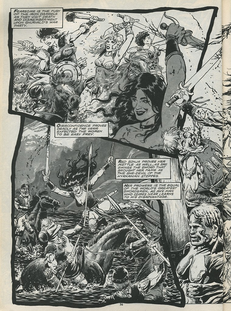 The Savage Sword Of Conan Issue #179 #180 - English 38