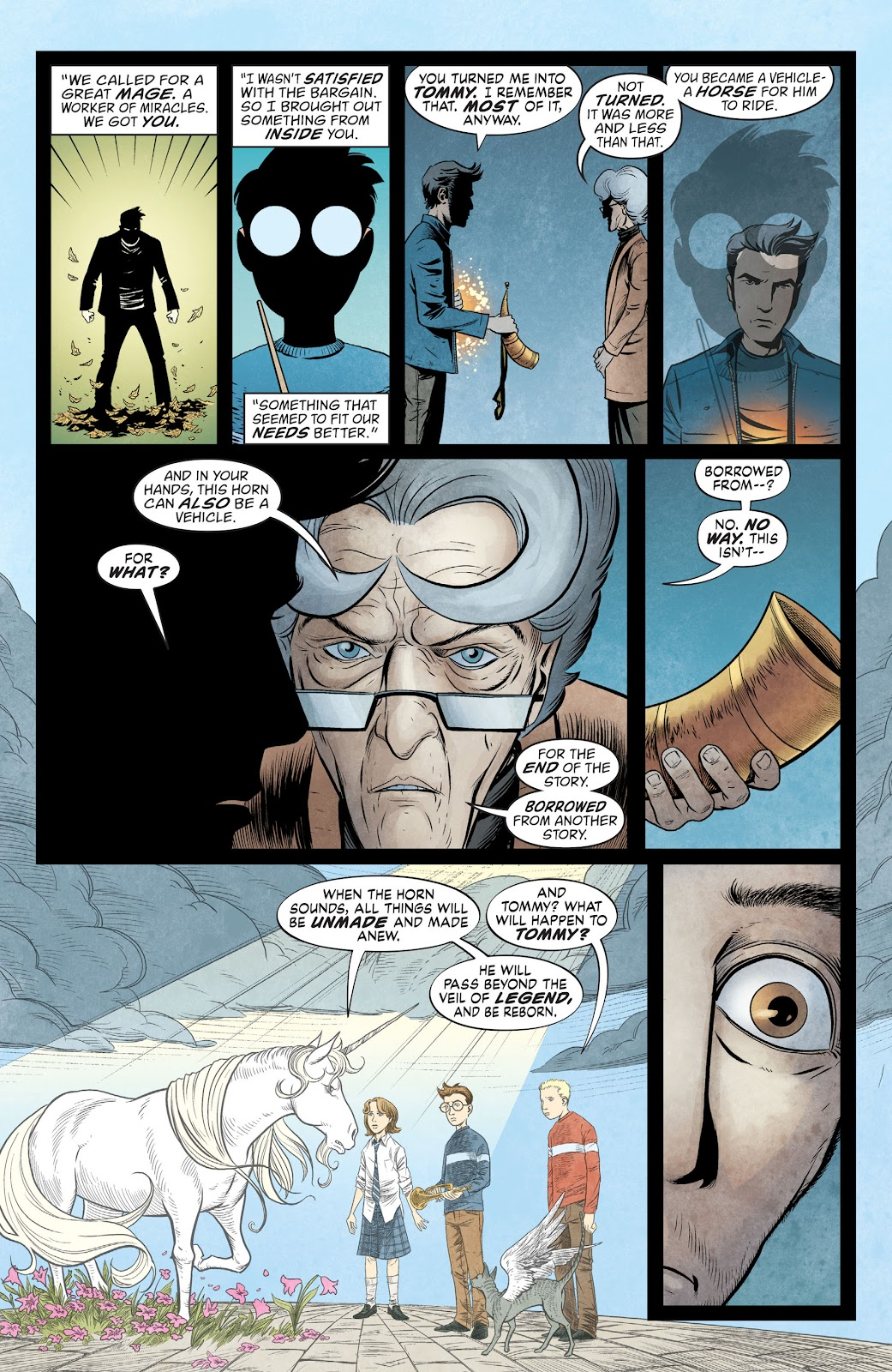 The Unwritten Issue #54 #60 - English 19