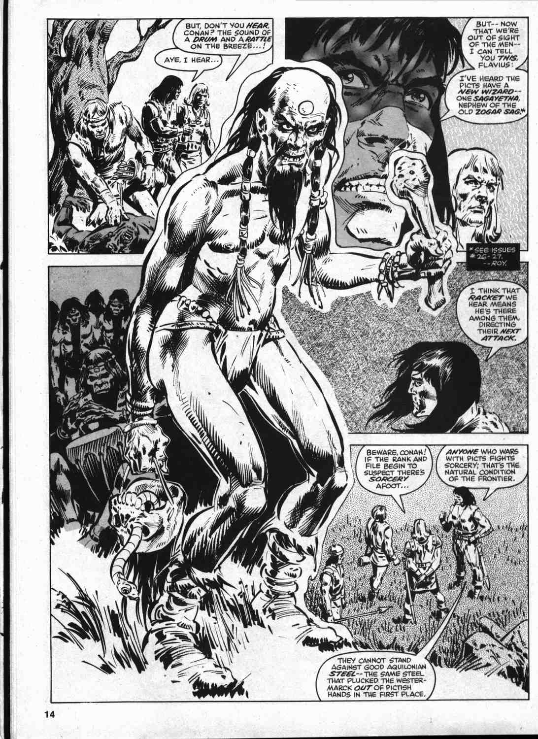 The Savage Sword Of Conan Issue #46 #47 - English 13