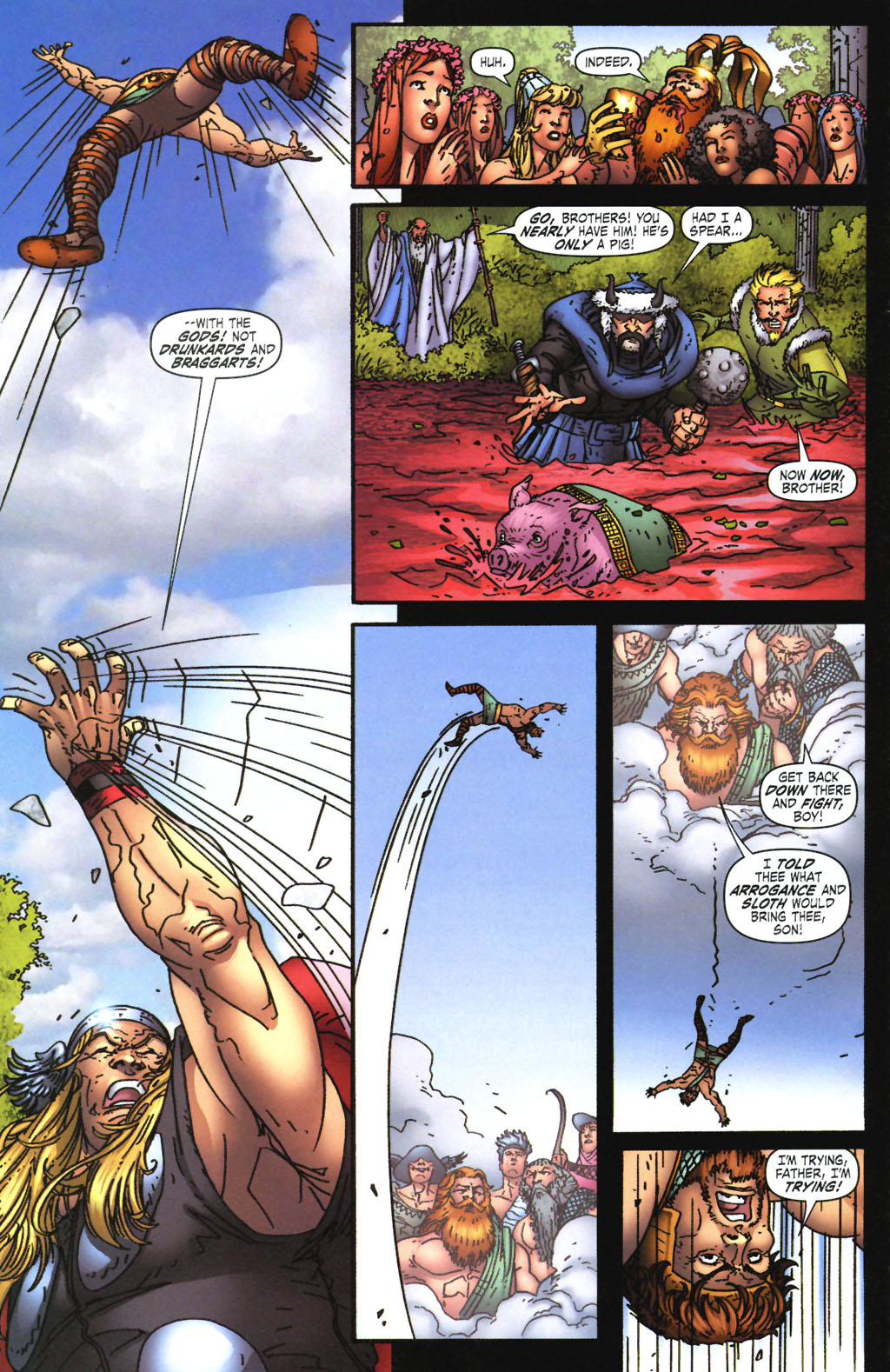 Read online Thor: Blood Oath comic -  Issue #3 - 15