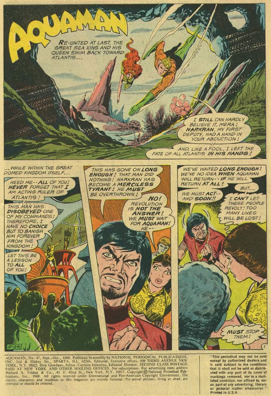 Aquaman (1962) Issue #47 #47 - English 3