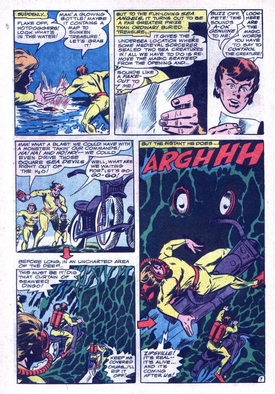 Read online Sea Devils comic -  Issue #34 - 11