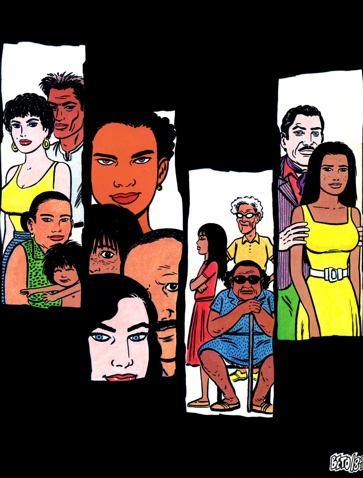 Love and Rockets (1982) Issue #31 #29 - English 36
