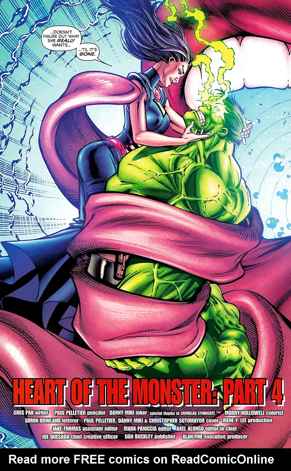 Incredible Hulks (2010) Issue #633 #23 - English 6