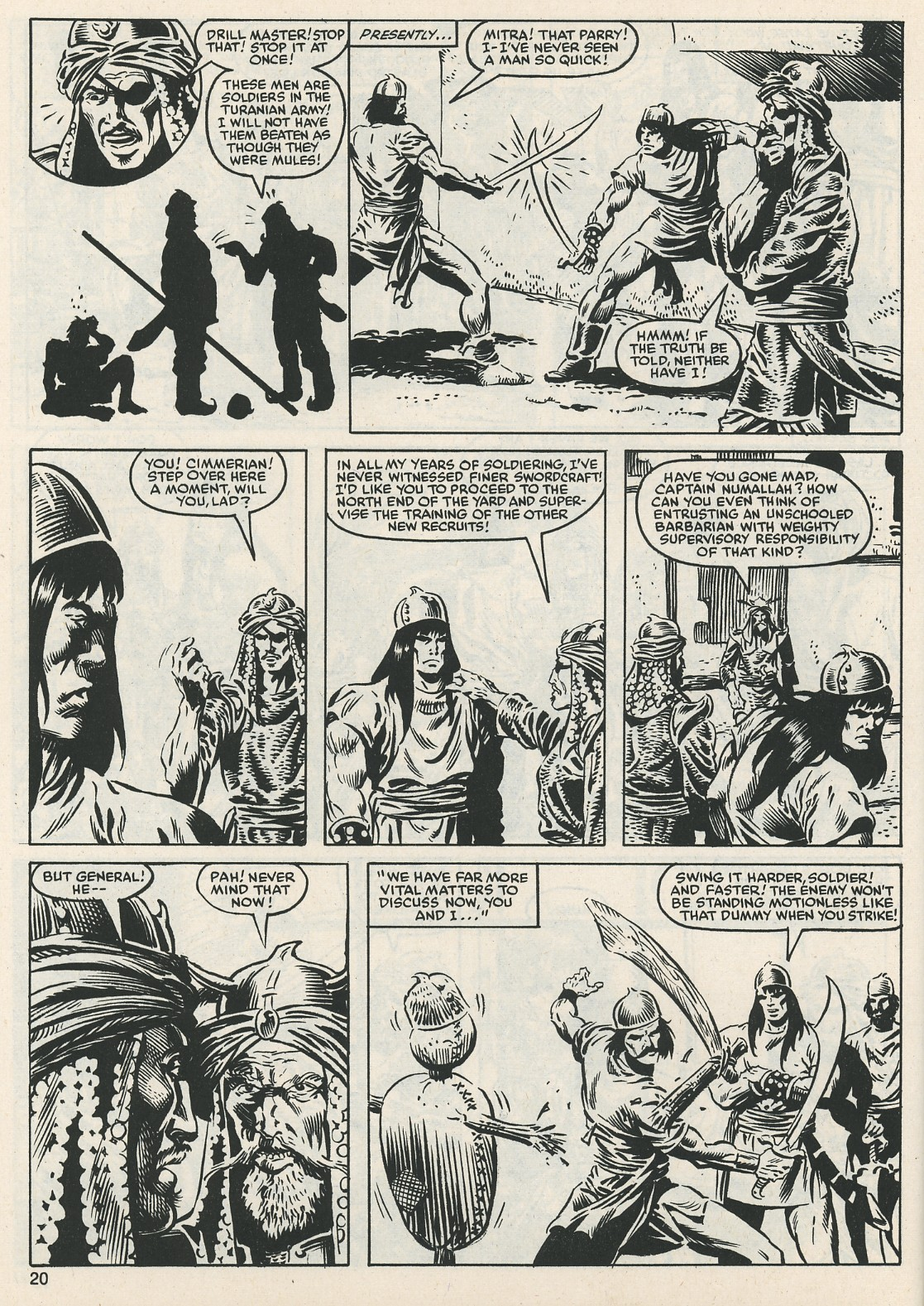 The Savage Sword Of Conan Issue #112 #113 - English 20