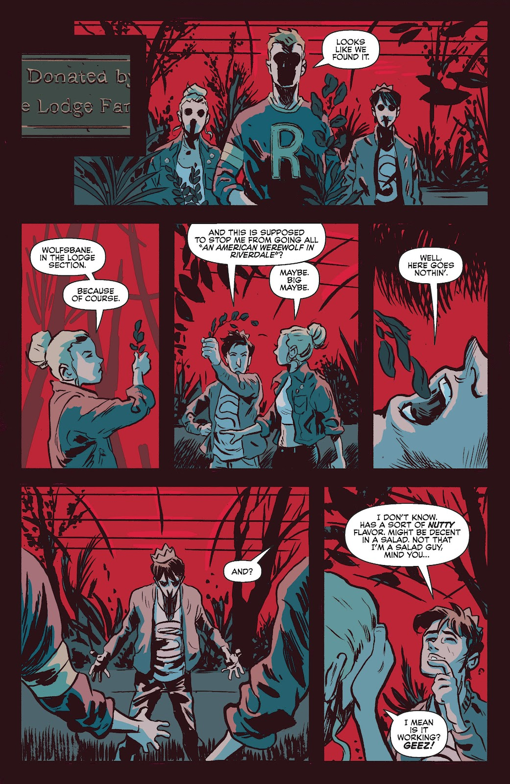 Jughead The Hunger Issue #0 #1 - English 33