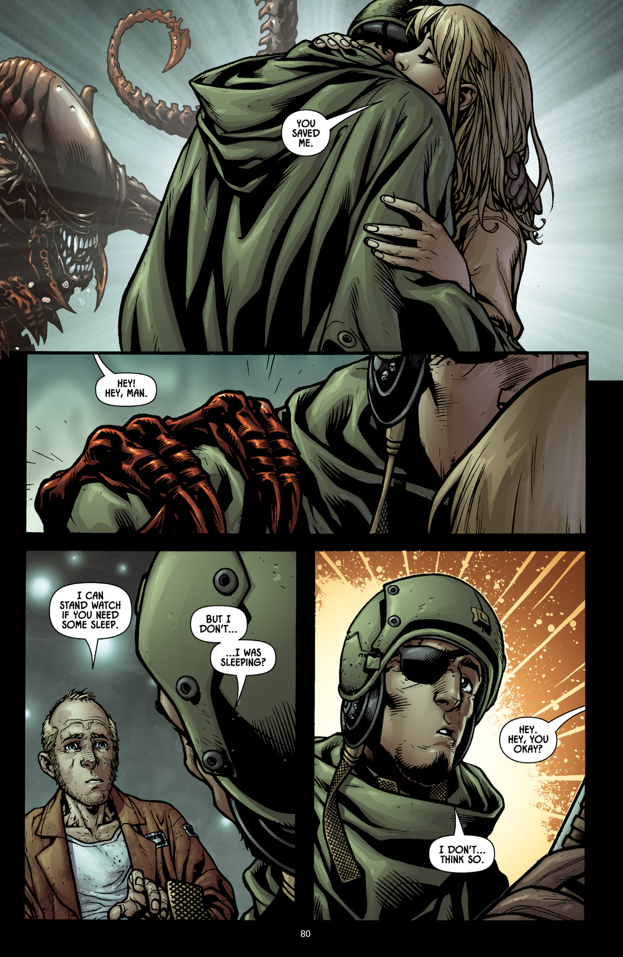 Aliens (2009) TPB Page 74