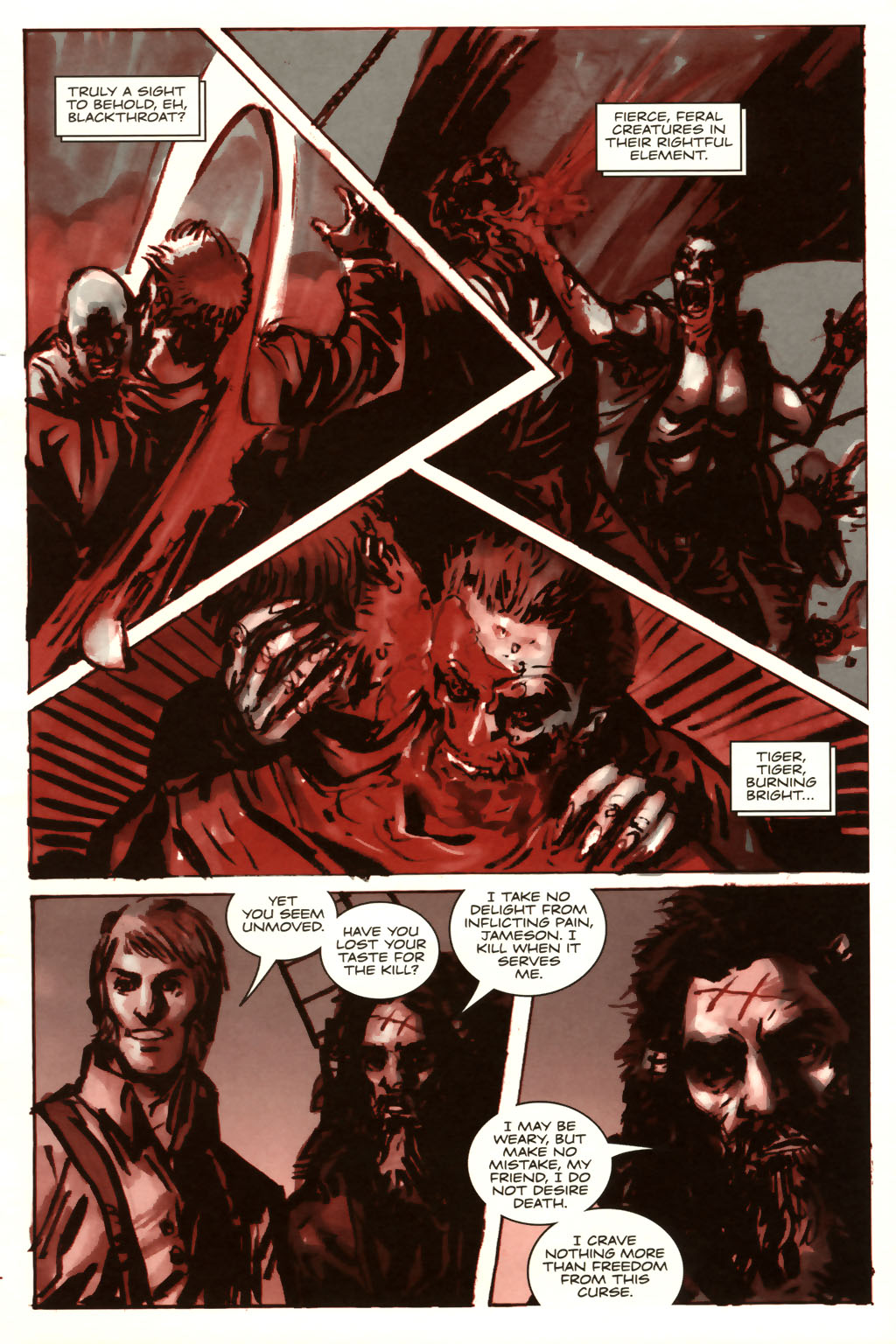 Read online Sea of Red comic -  Issue #9 - 16