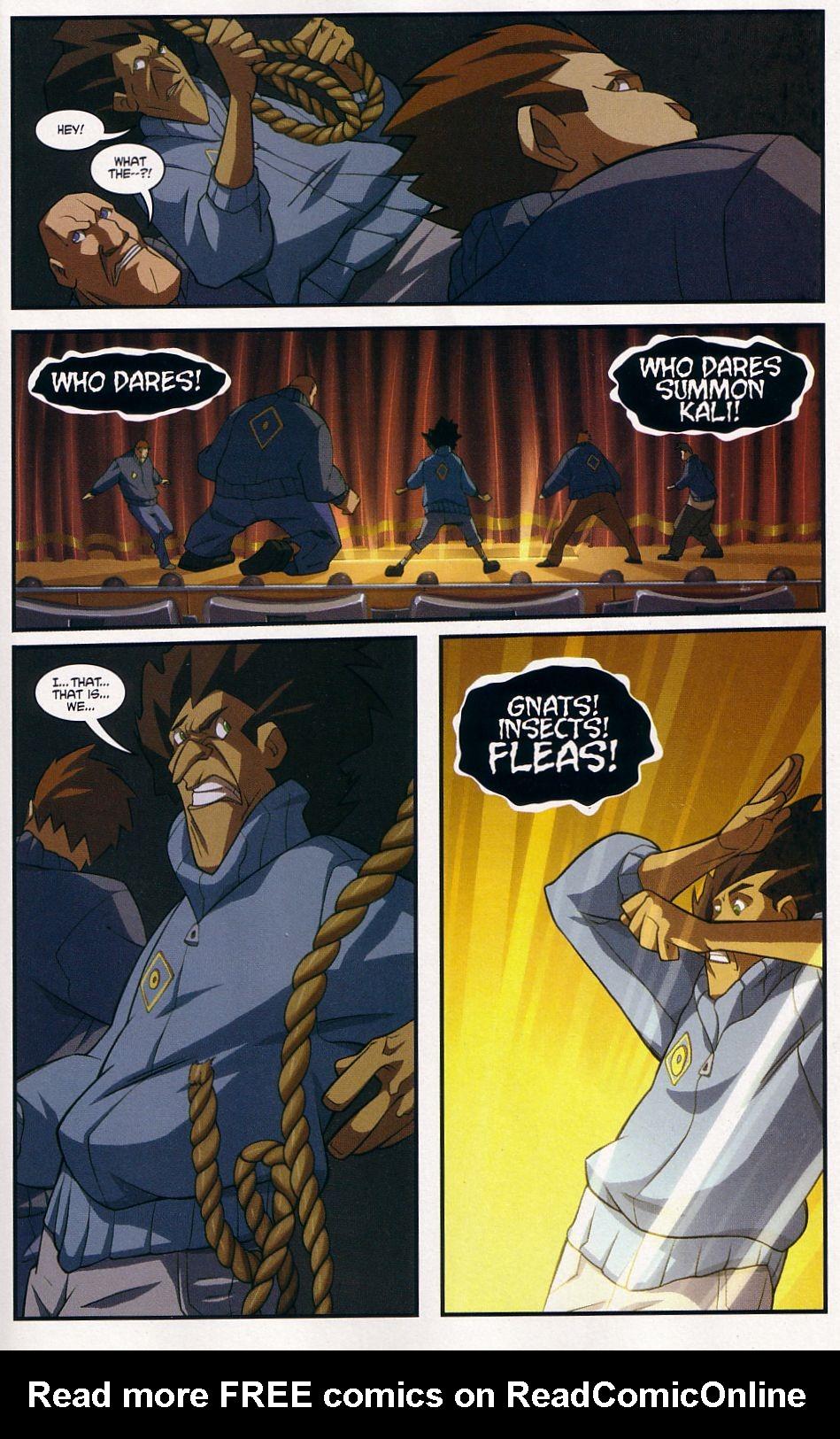 Teenage Mutant Ninja Turtles (2003) chap 7 pic 19
