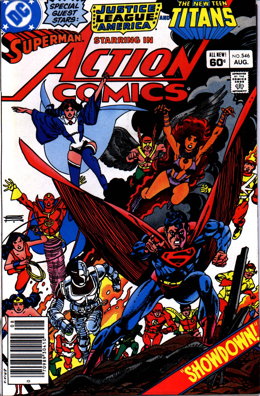 Action Comics (1938) 546 Page 1