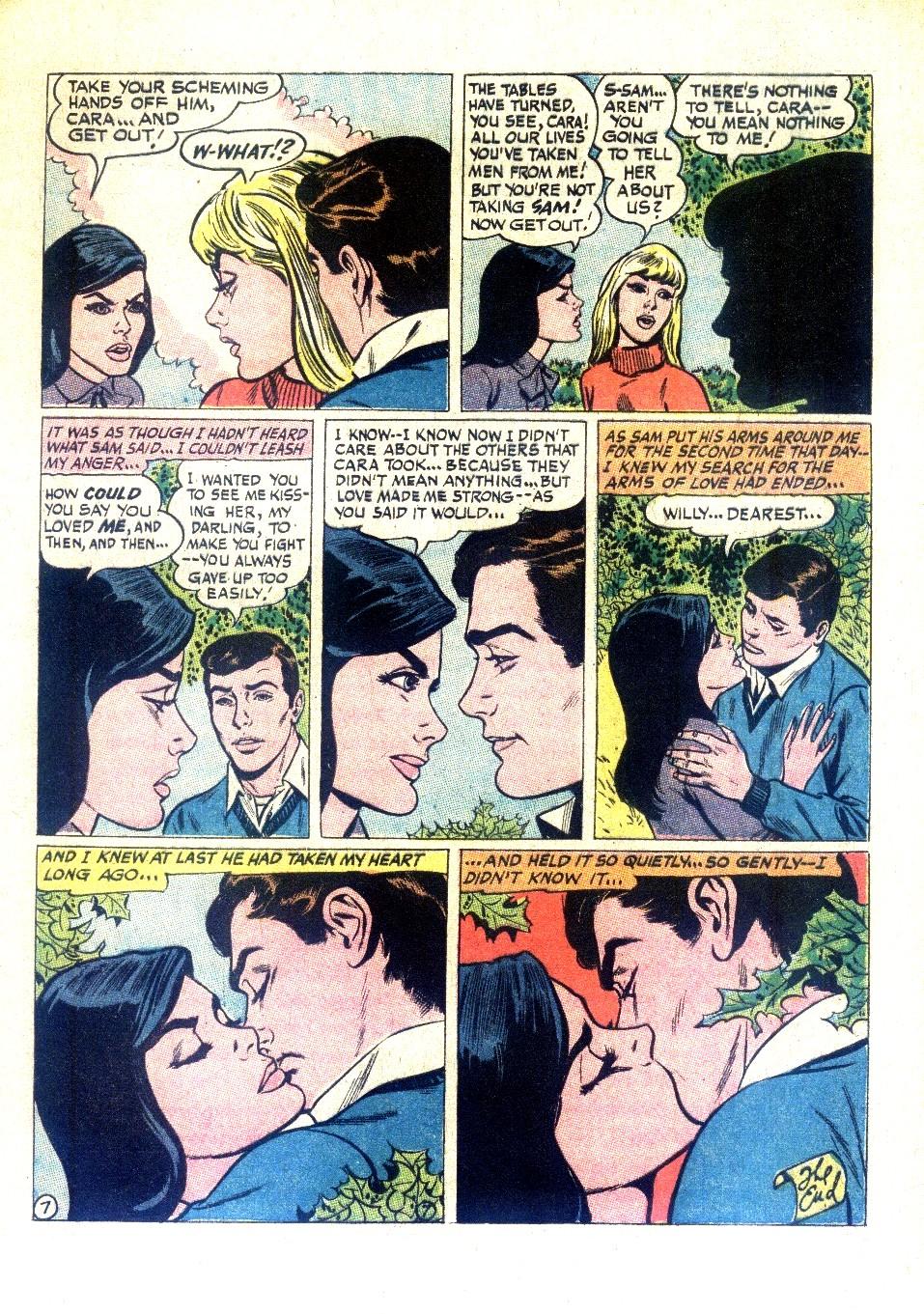 Read online Secret Hearts comic -  Issue #126 - 9