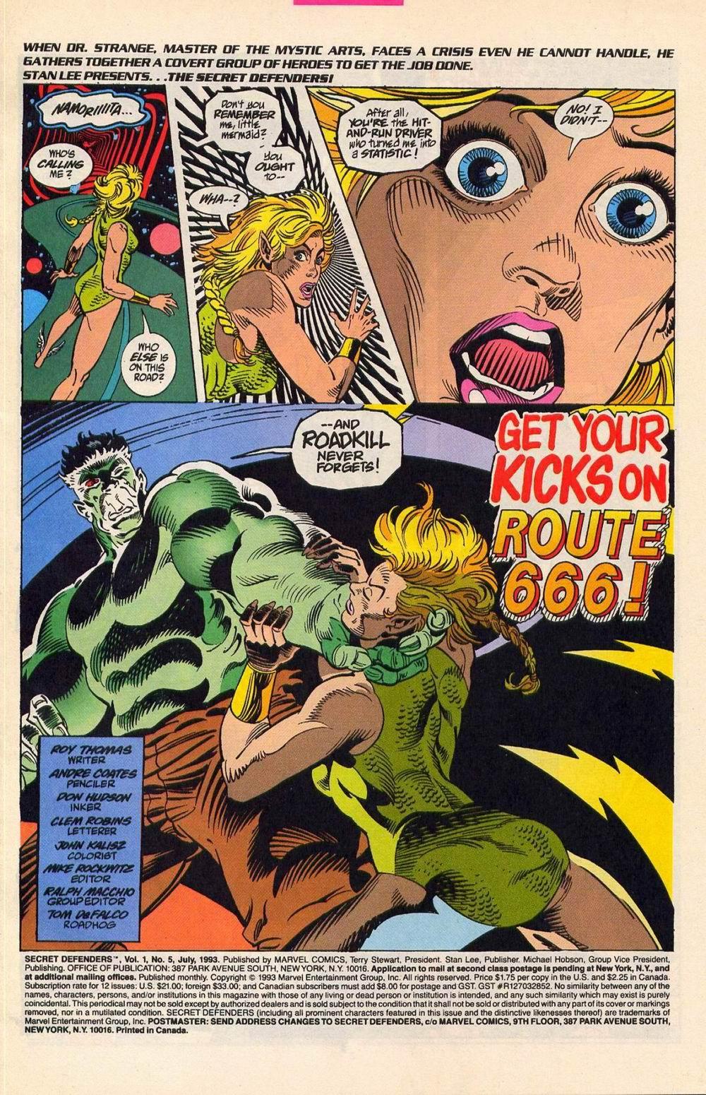 Read online Secret Defenders comic -  Issue #5 - 2