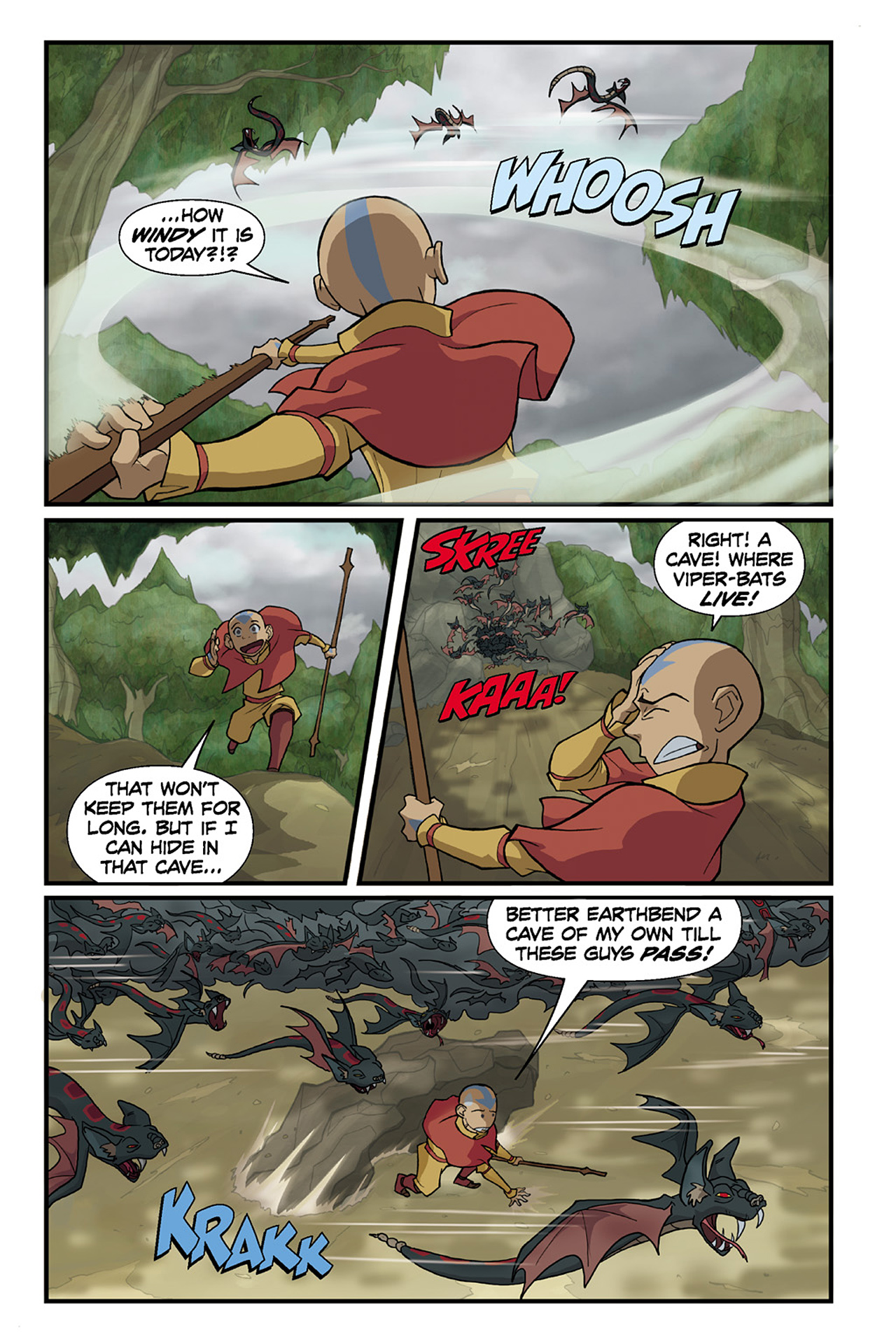 Nickelodeon Avatar: The Last Airbender - The Lost Adventures chap full pic 65