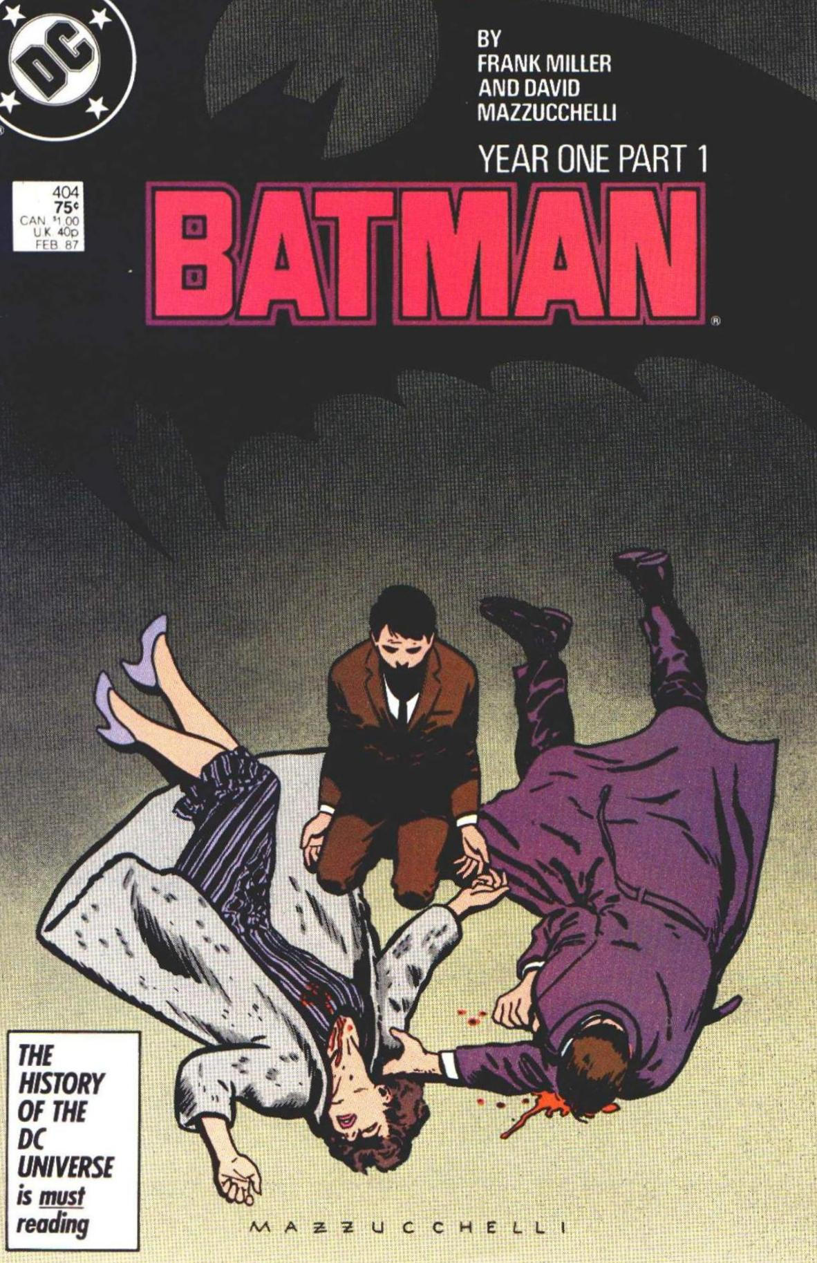 Batman: Year One issue 1 - Page 1