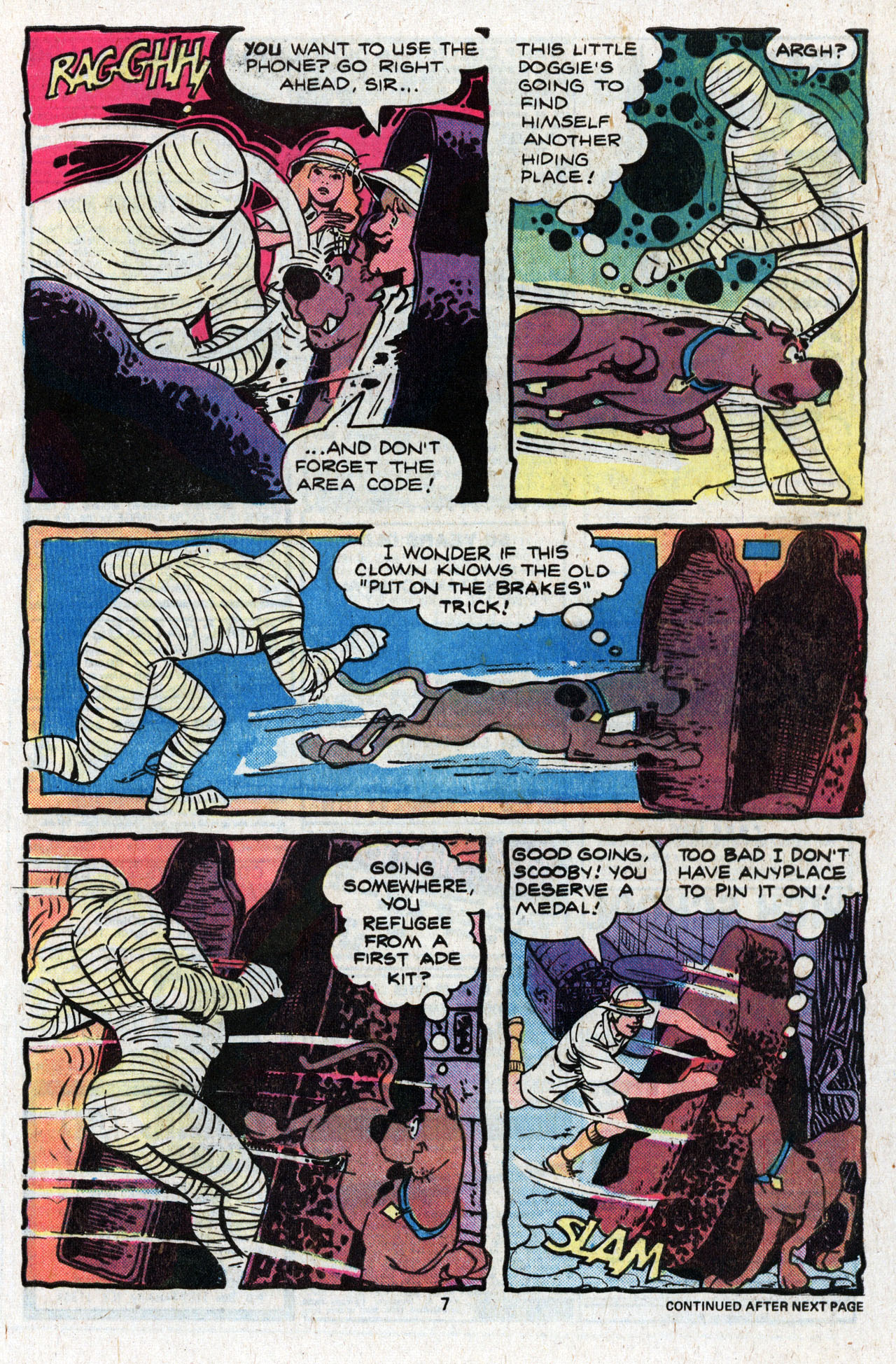 Read online Scooby-Doo (1977) comic -  Issue #4 - 9