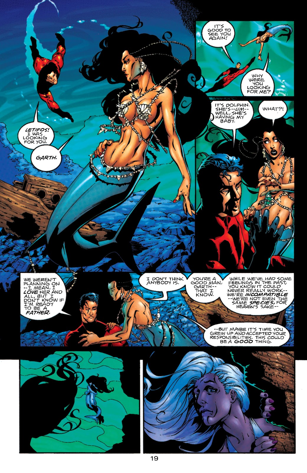 Aquaman (1994) Issue #55 #61 - English 20