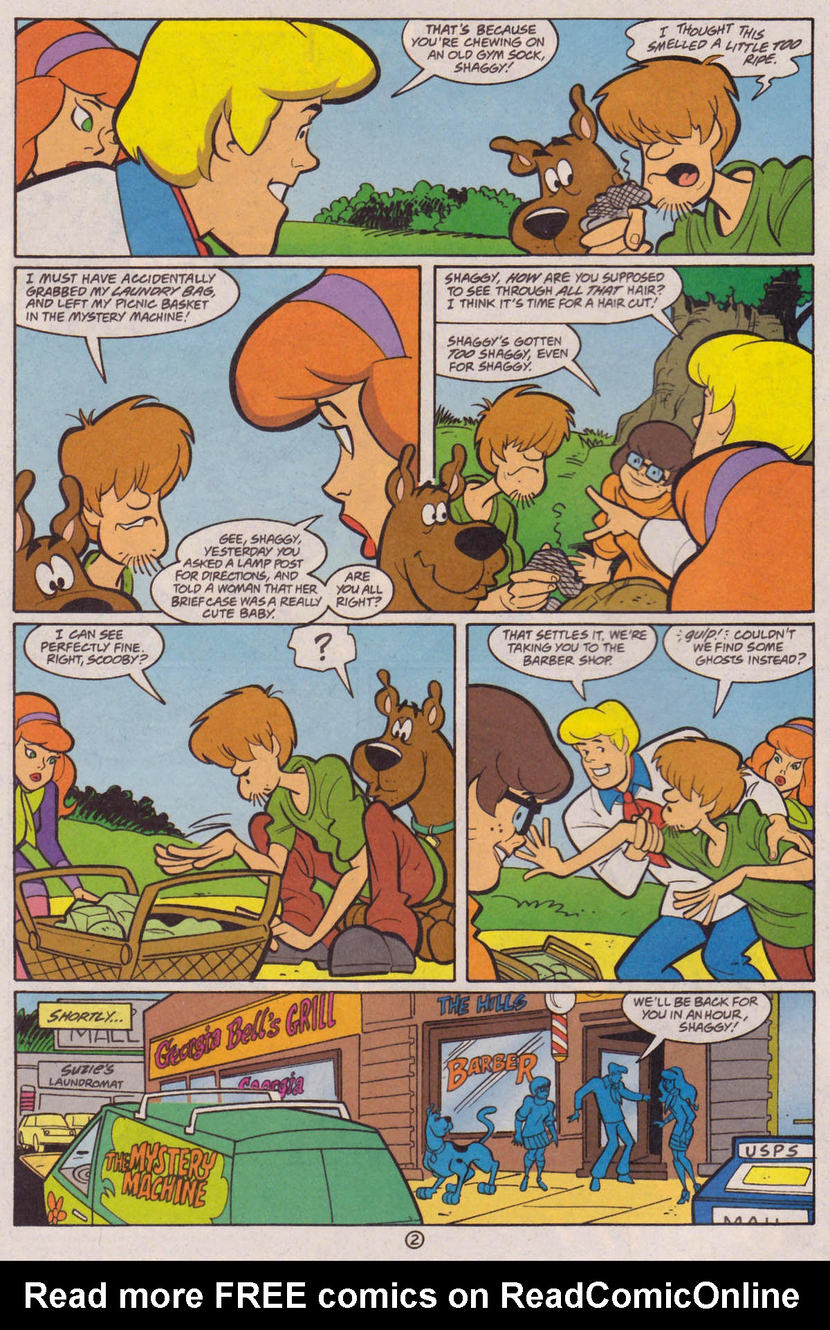 Read online Scooby-Doo (1997) comic -  Issue #29 - 3