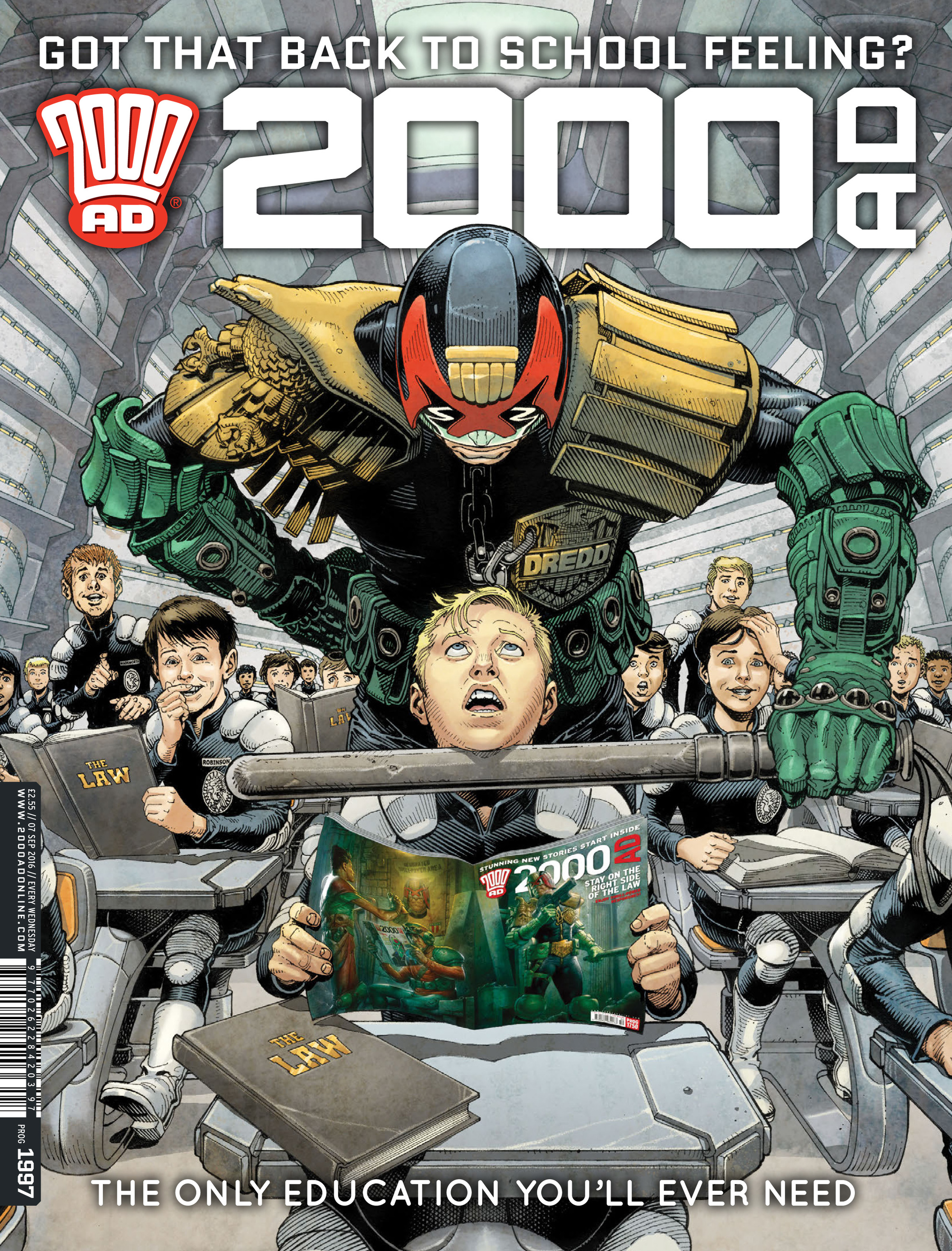 2000 AD 1997 Page 1