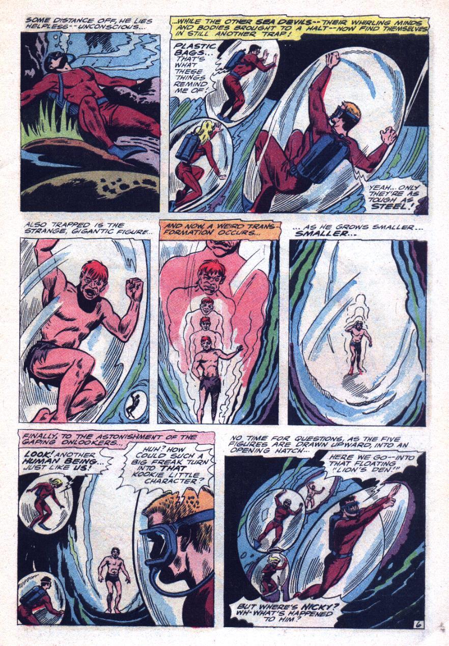 Read online Sea Devils comic -  Issue #29 - 10